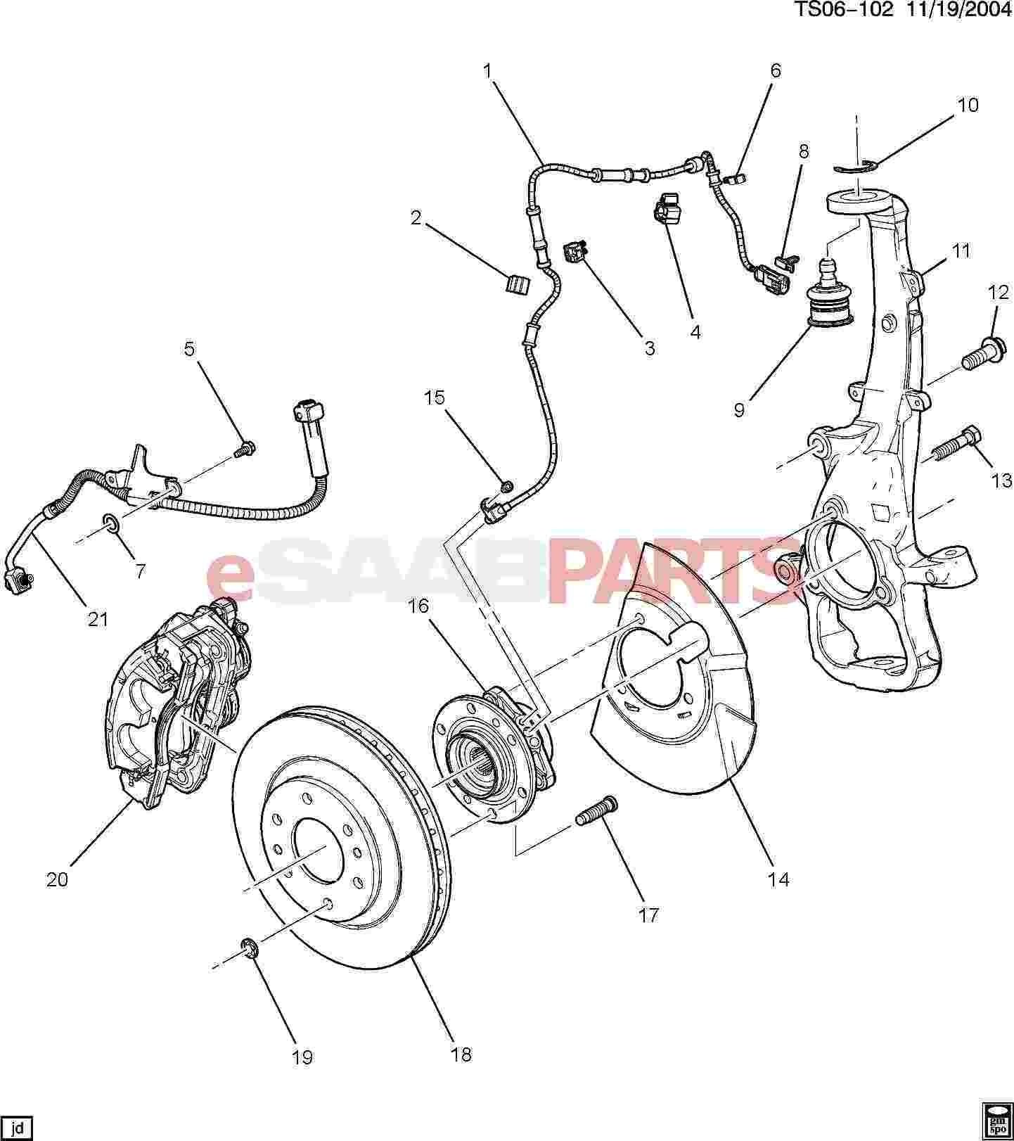 Brake Caliper Parts Diagram 2016 Polaris Sportsman 850 Hl
