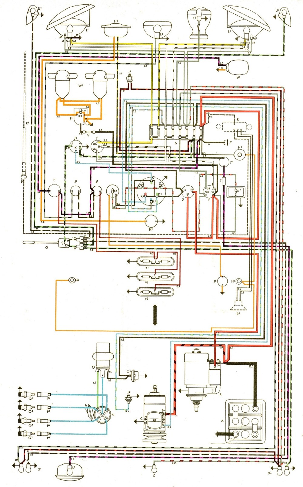 medium resolution of bus engine diagram vintagebus vw bus and other wiring diagrams