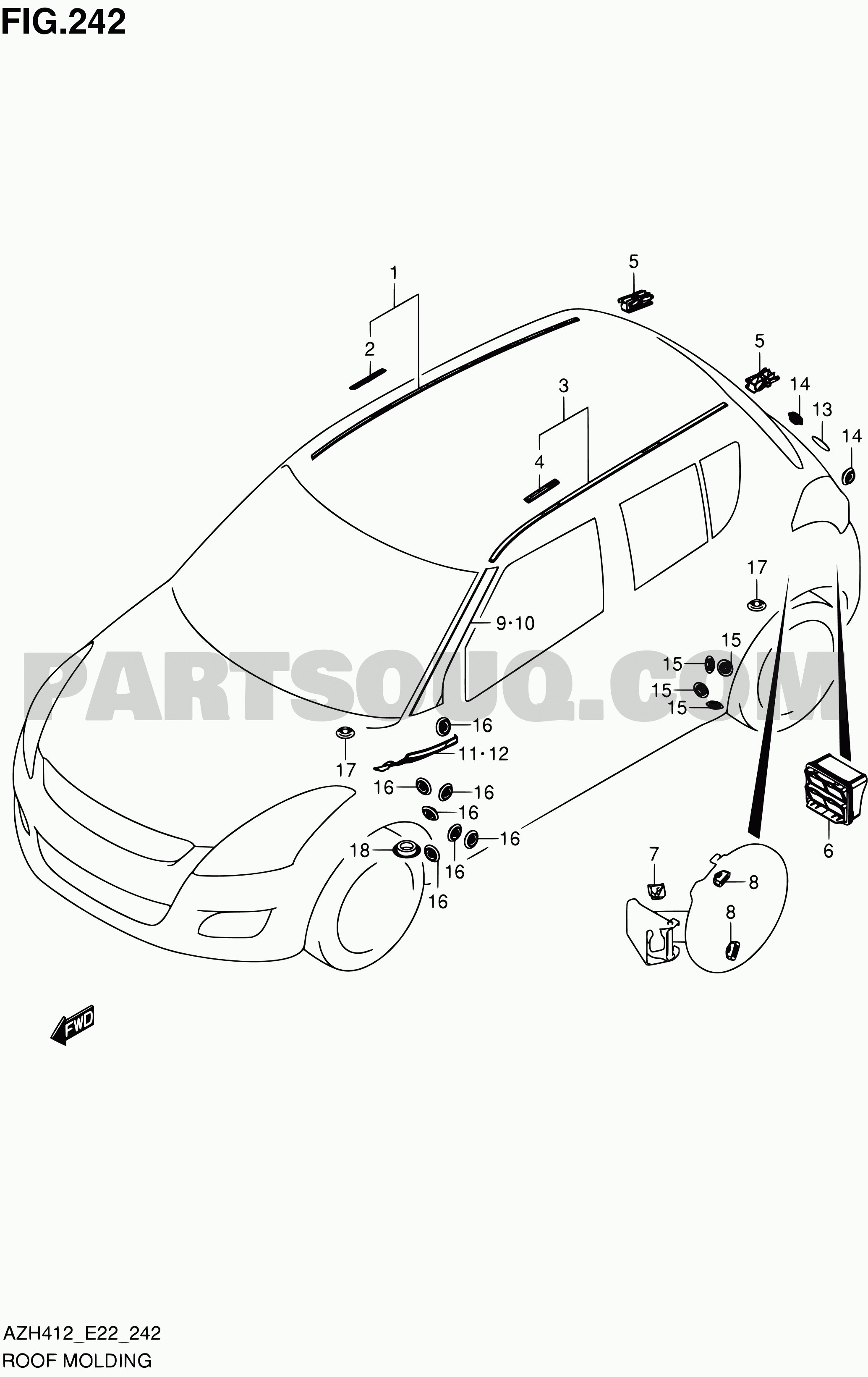 car exterior parts diagram with names 2008 yamaha raptor 700 wiring labeled 242