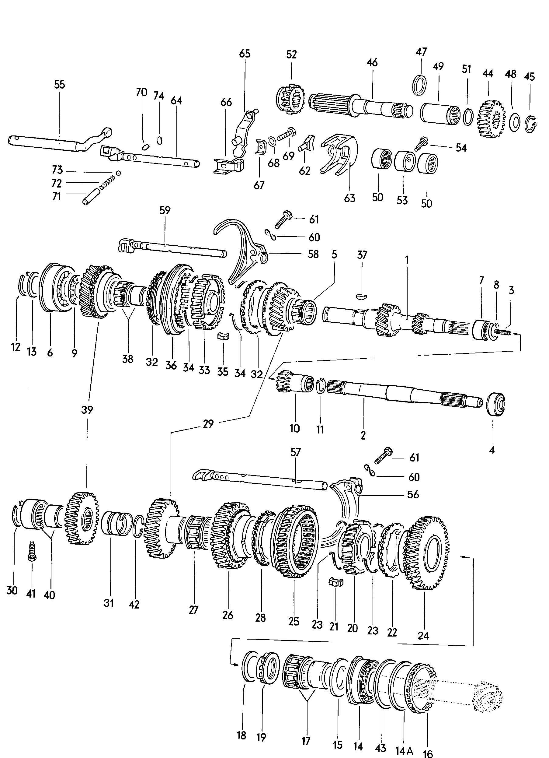 Vw Automatic Transmission Parts Diagram • Wiring Diagram