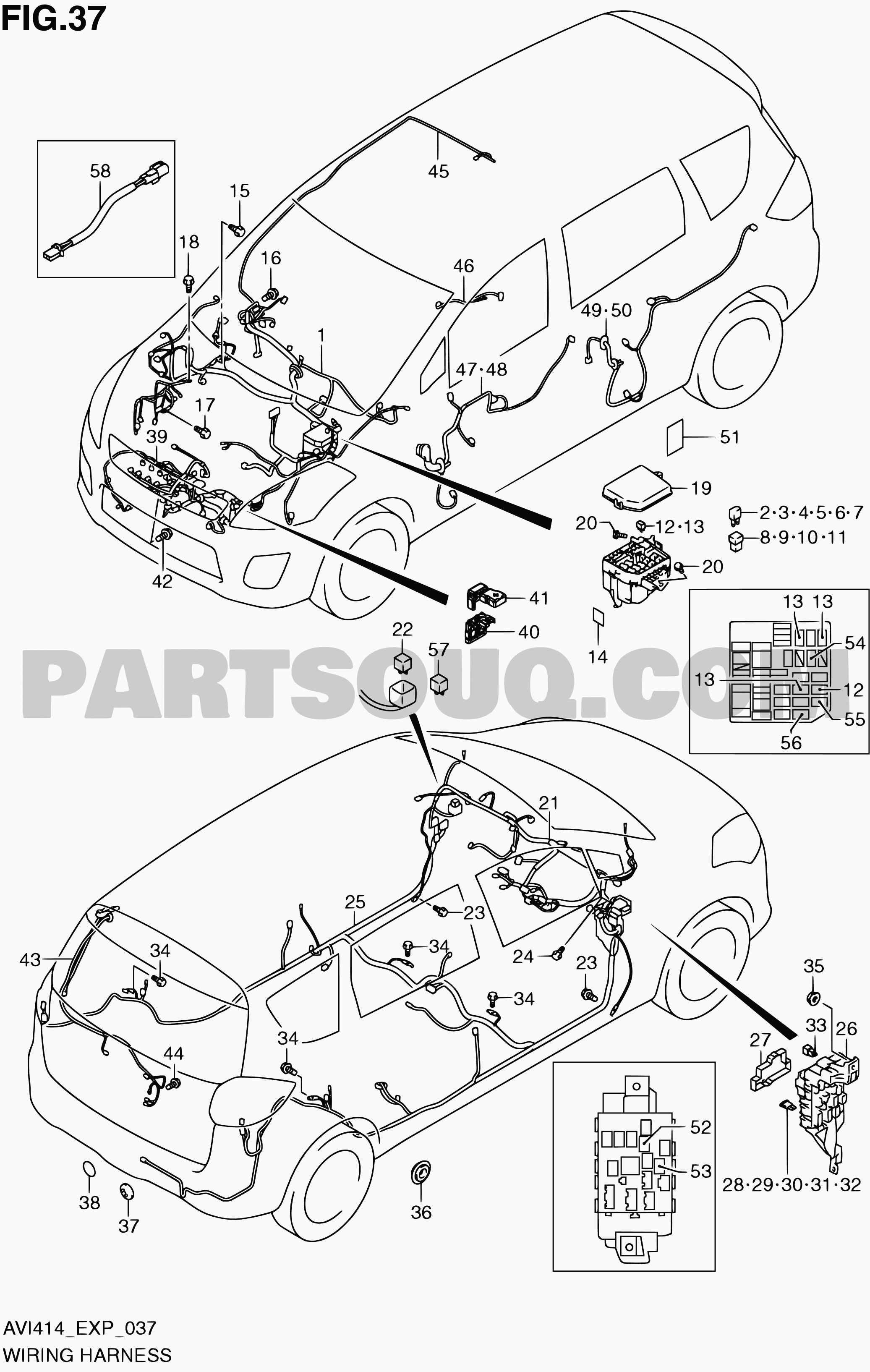 Diagram of car parts in spanish 37 wiring harness ertiga avi414 avi414 p06 p85 of diagram