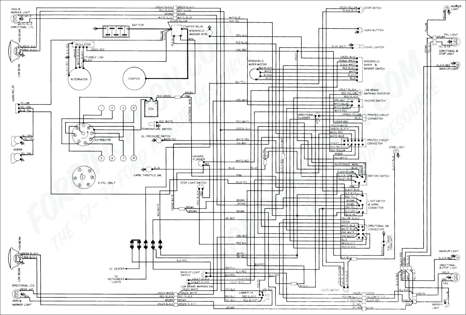 Ford F150 Wiring Harness Diagram 1973 1979 ford Truck