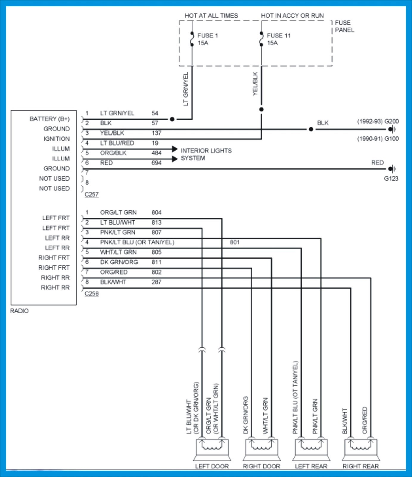 hight resolution of 1987 ford f150 fuel pump wiring diagram 87 f150 wiring diagram wiring diagram and