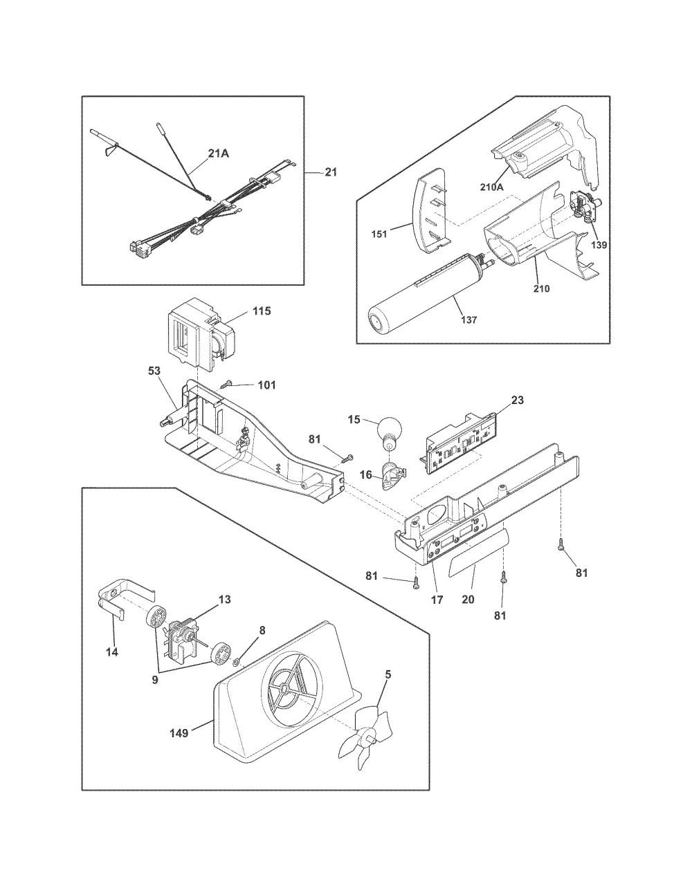 medium resolution of  wiring diagrams trigg on frigidaire ice maker parts diagram charming maytag refrigerator ice on