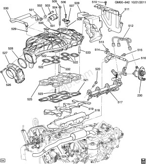 Chevrolet 3 6 V6 Engine Diagram  1993 chevy 4 3 motor