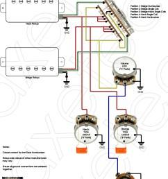 four wire humbucker wiring diagram [ 1263 x 1657 Pixel ]