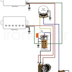 Guitar Wiring Diagrams 2 Pickups Hip Diagram Labeled My