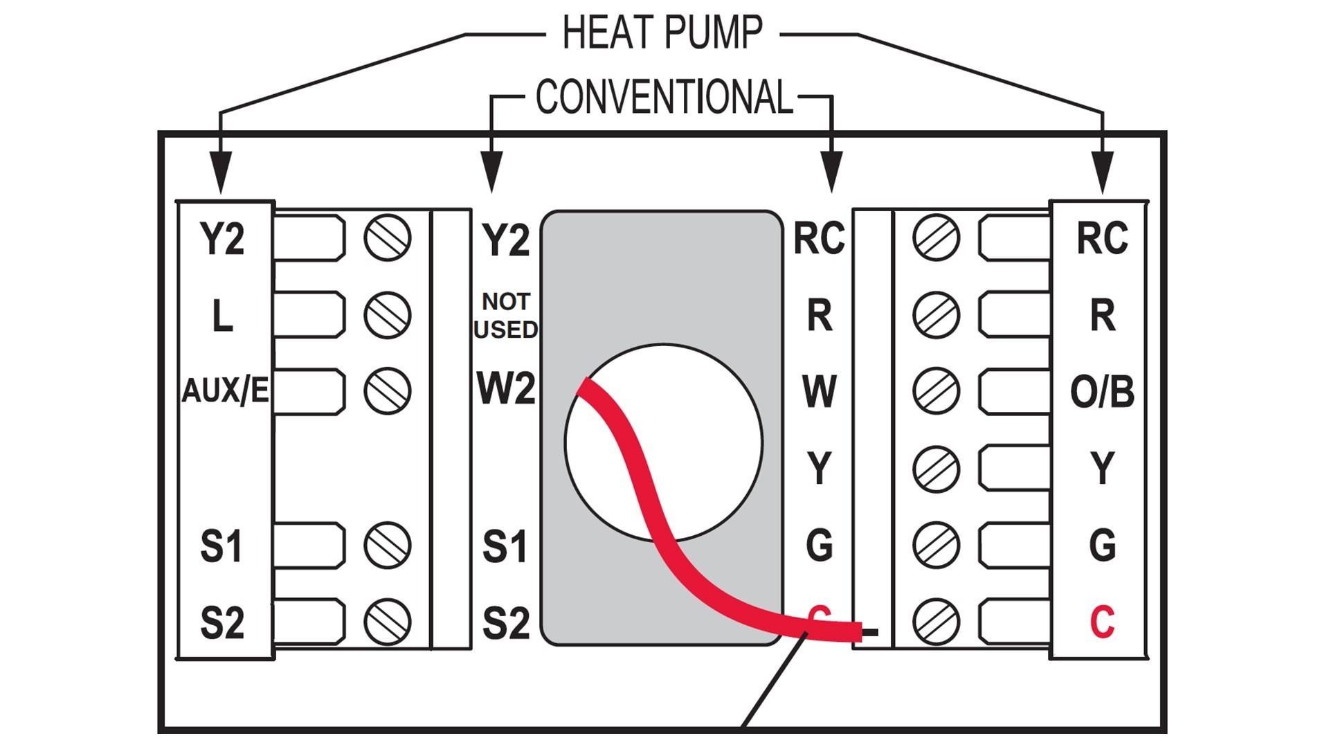 goodman heat pump package unit wiring diagram 220v plug thermostat