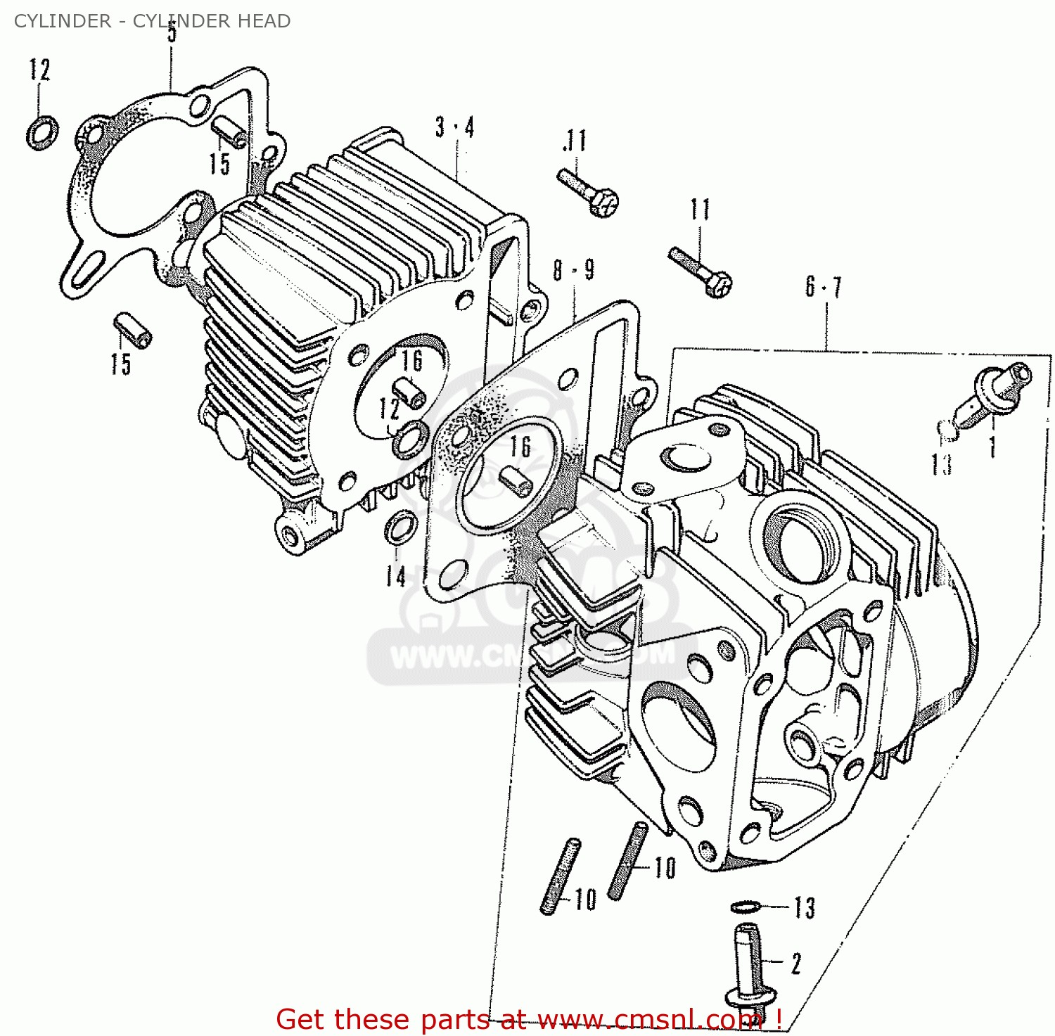 Honda Cd70 Engine Diagram Motorcycle Cd70 Engine Diagram