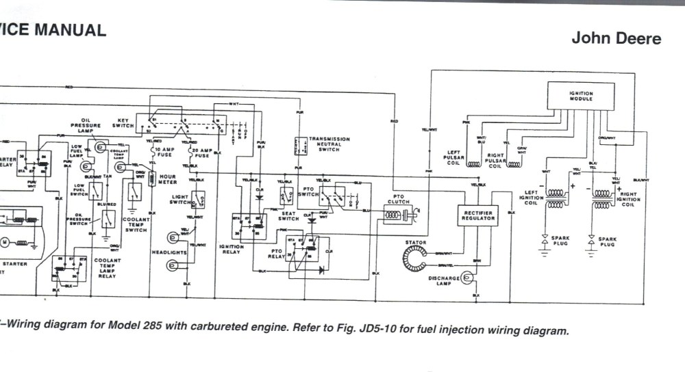 medium resolution of wiring schematic for john deere 445 free download wiring diagrams john deere 445 pto solenoid john deere 445 wiring diagram