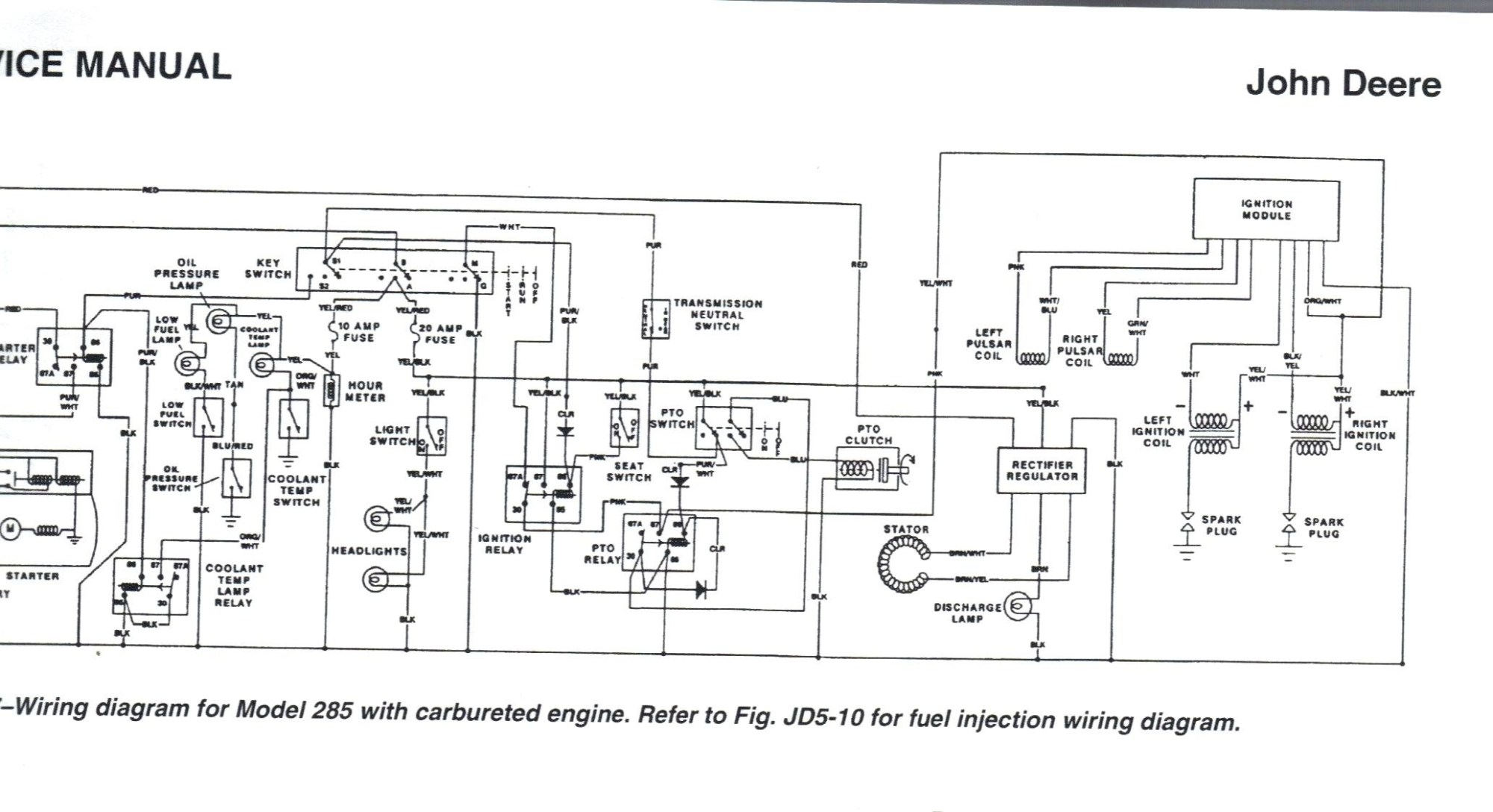 hight resolution of wiring schematic for john deere 445 free download wiring diagrams john deere 445 pto solenoid john deere 445 wiring diagram