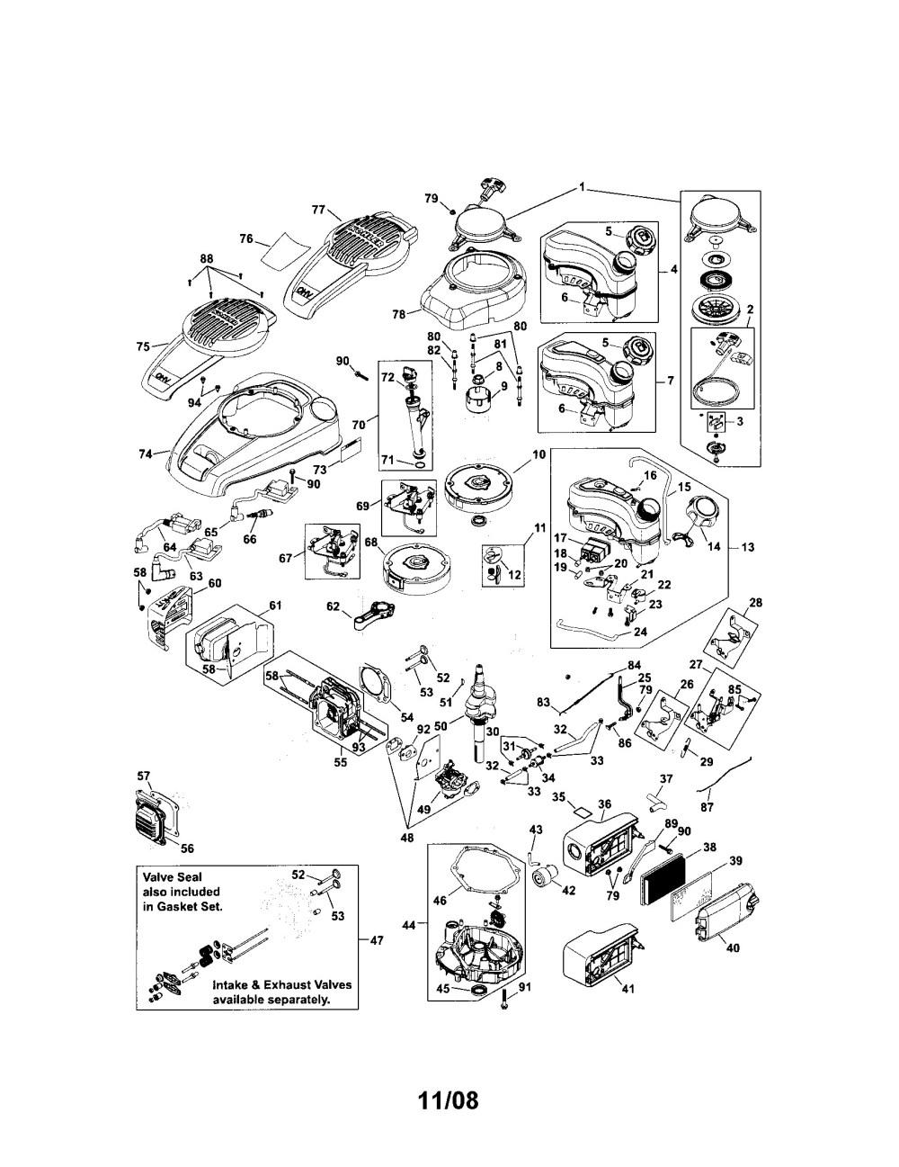 medium resolution of kohler k301s engine parts diagrams data wiring diagrams u2022 kohler carburetor breakdown kohler k321 engine