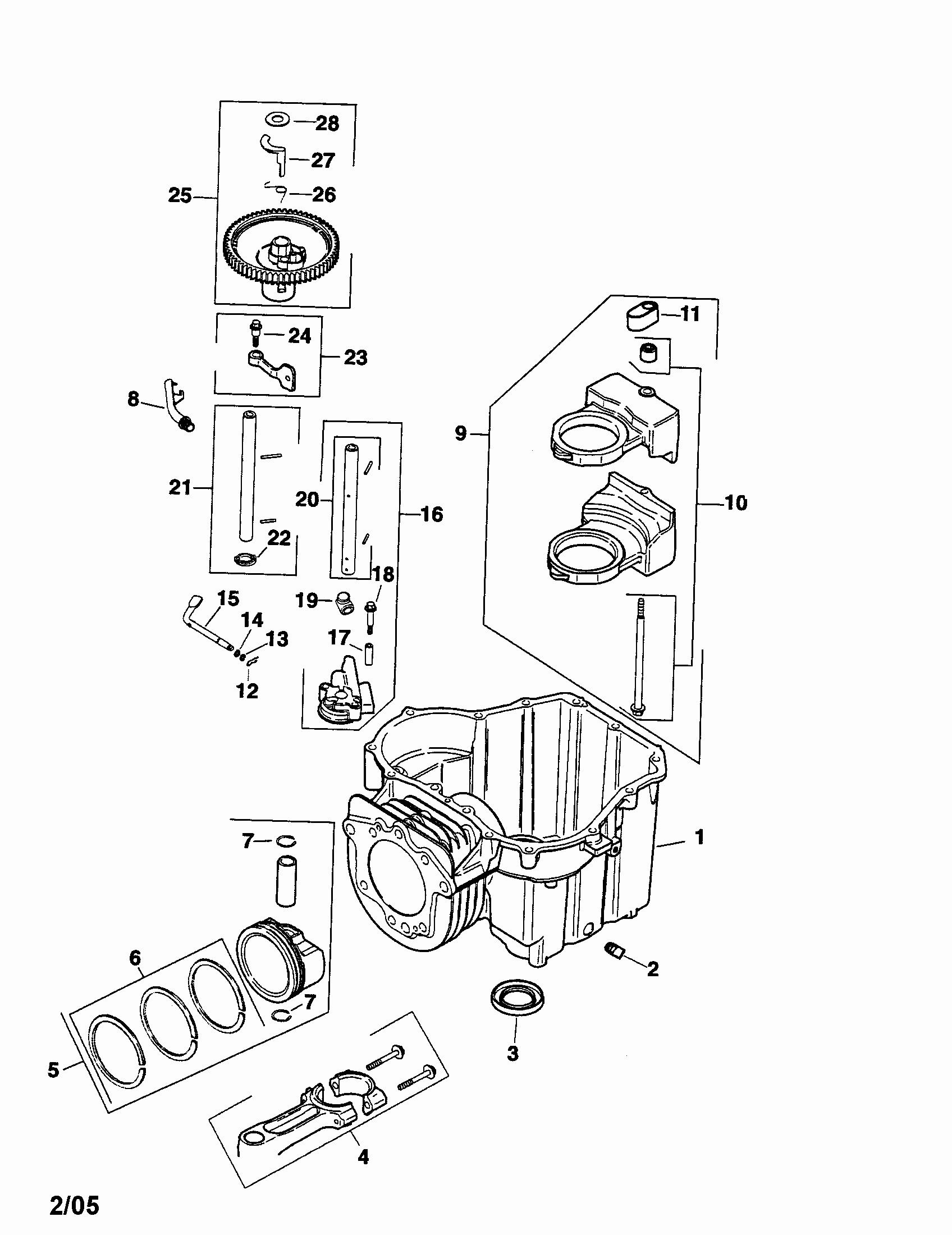 Kohler K241 Engine Parts Diagram Pontiac G6 2007 Fuse Box