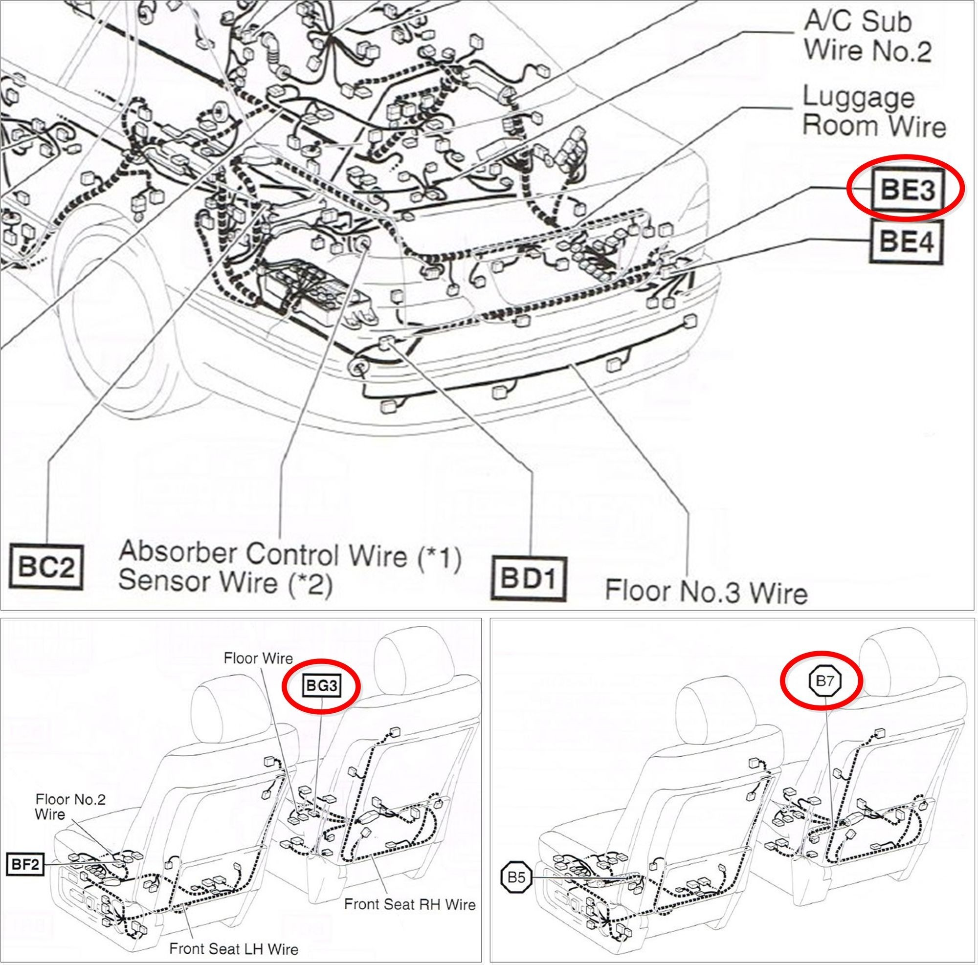 Lexus Electrical Wiring Diagram