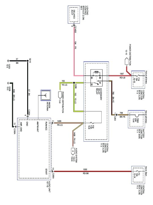 small resolution of 2008 lincoln navigator wiring diagram