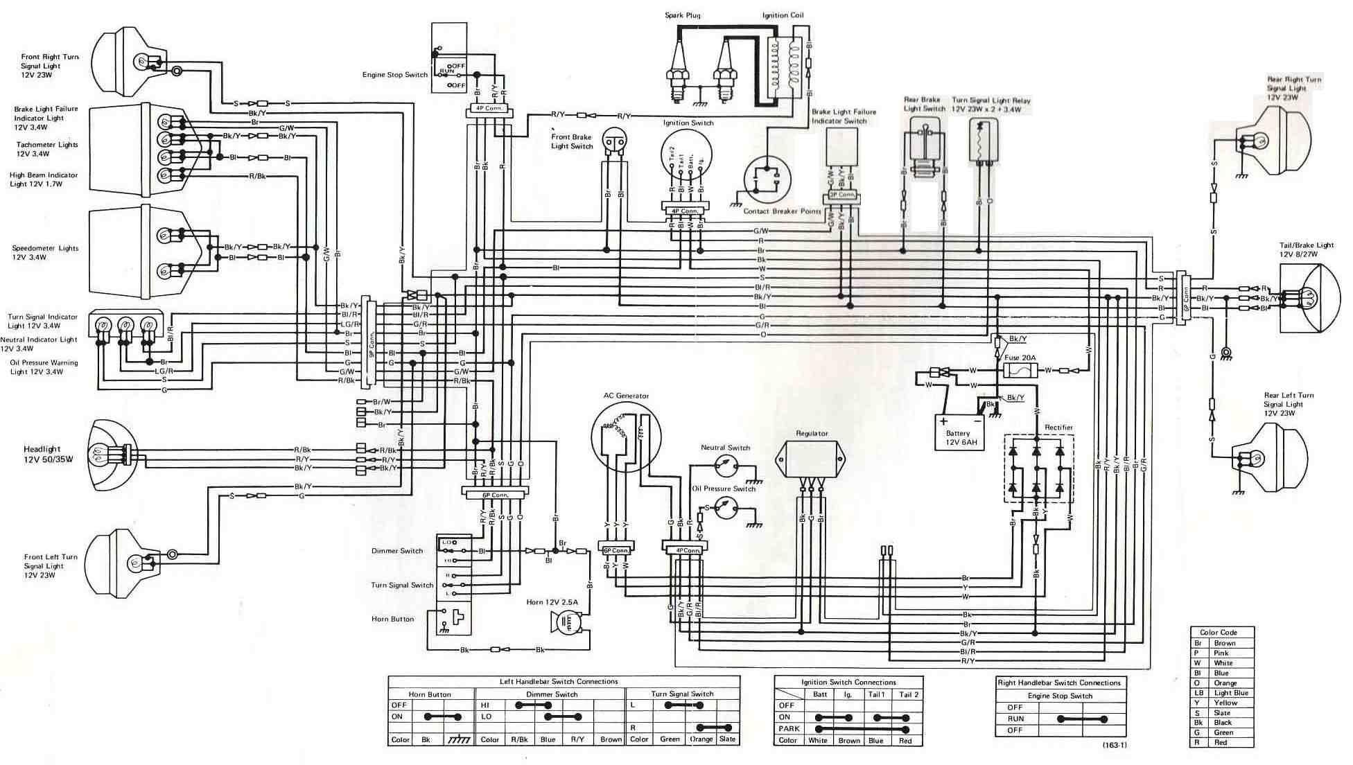 2000 kawasaki zxi 1100 wiring diagram