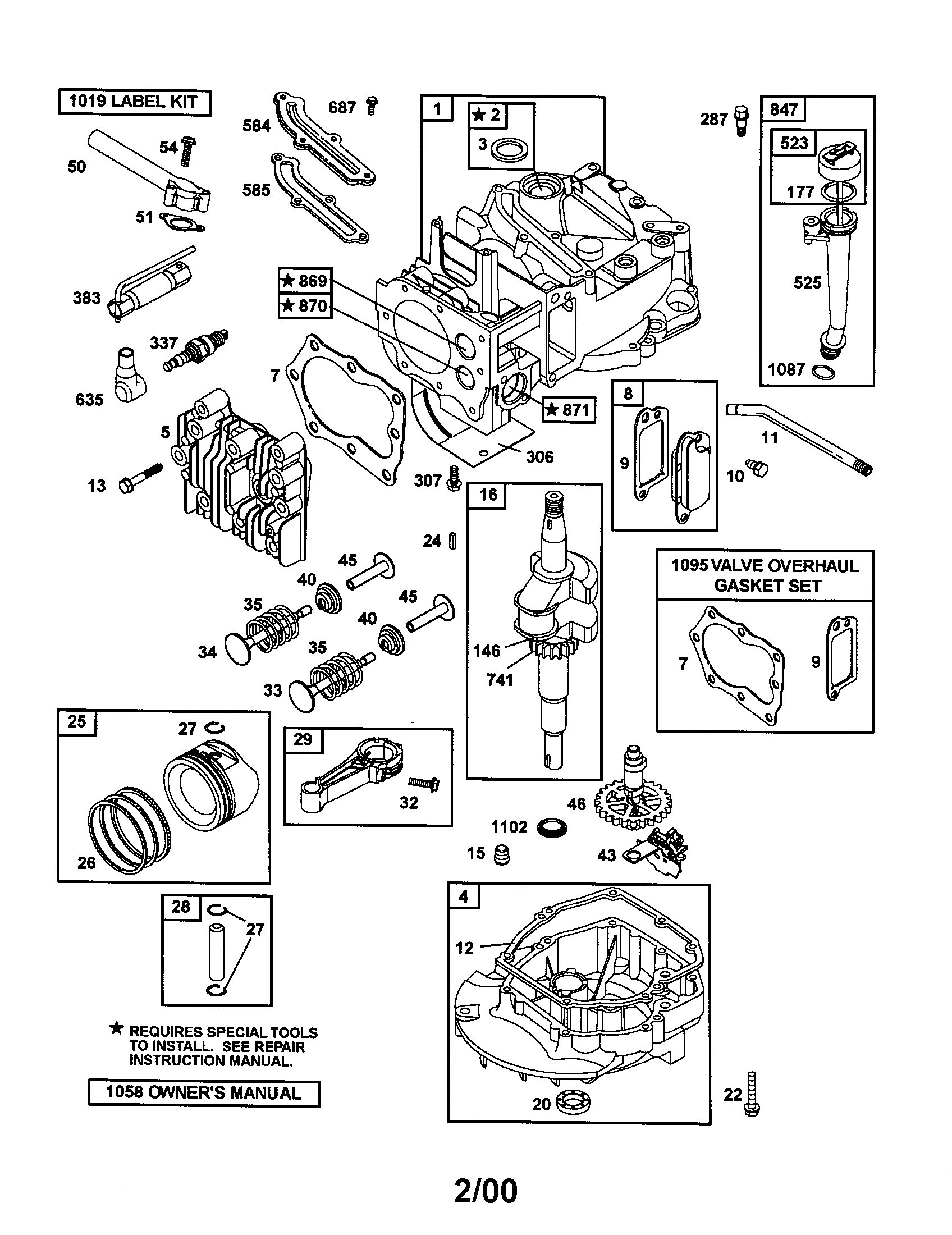 8 Hp Briggs Stratton Engine Diagram