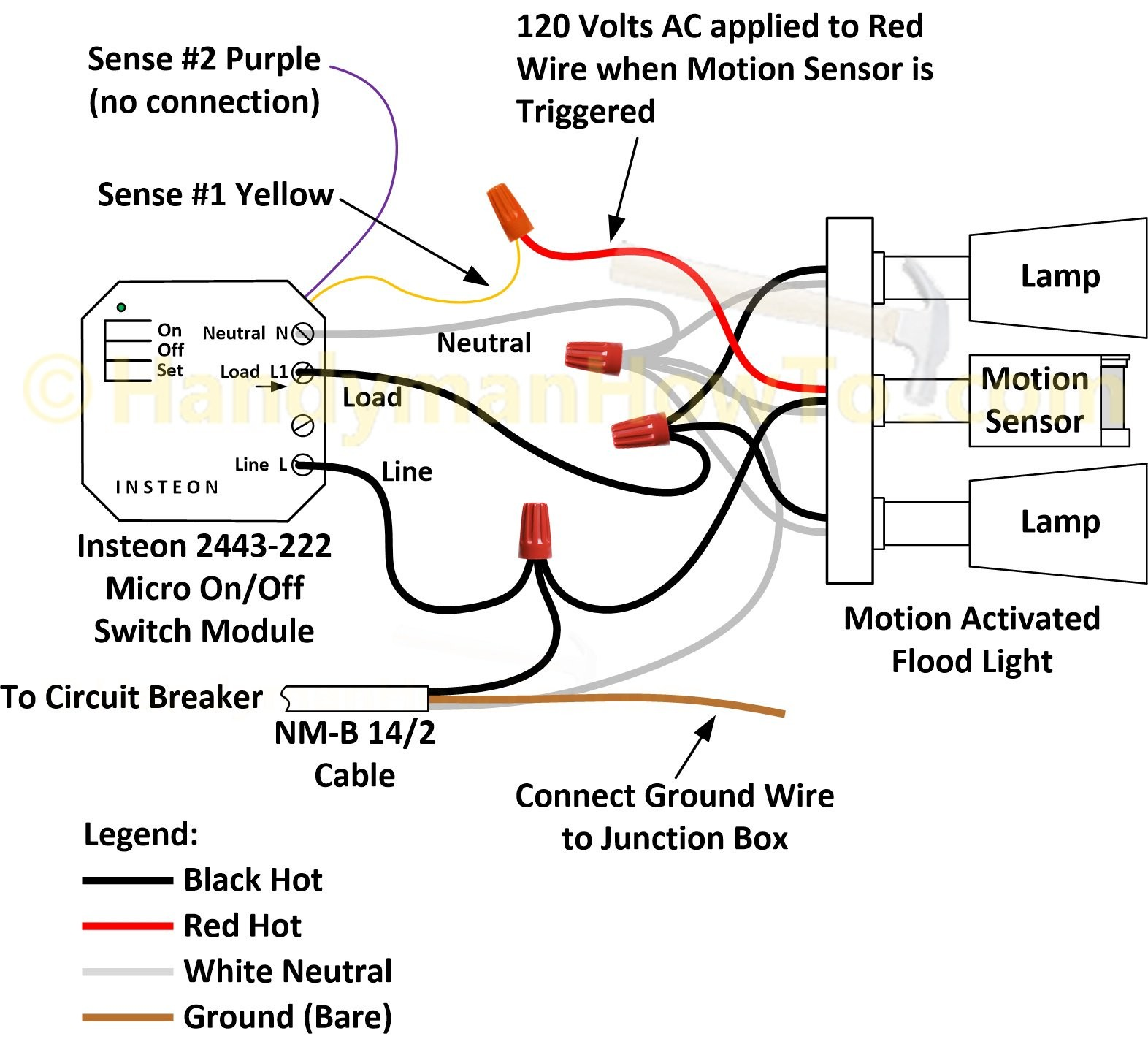 pir motion sensor wiring diagram hotpoint cooker honeywell