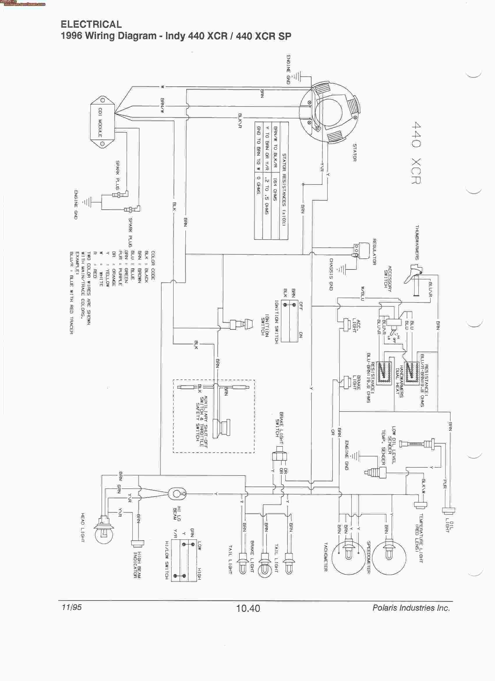 2008 Polaris Sportsman 500 Ho Wiring Diagram