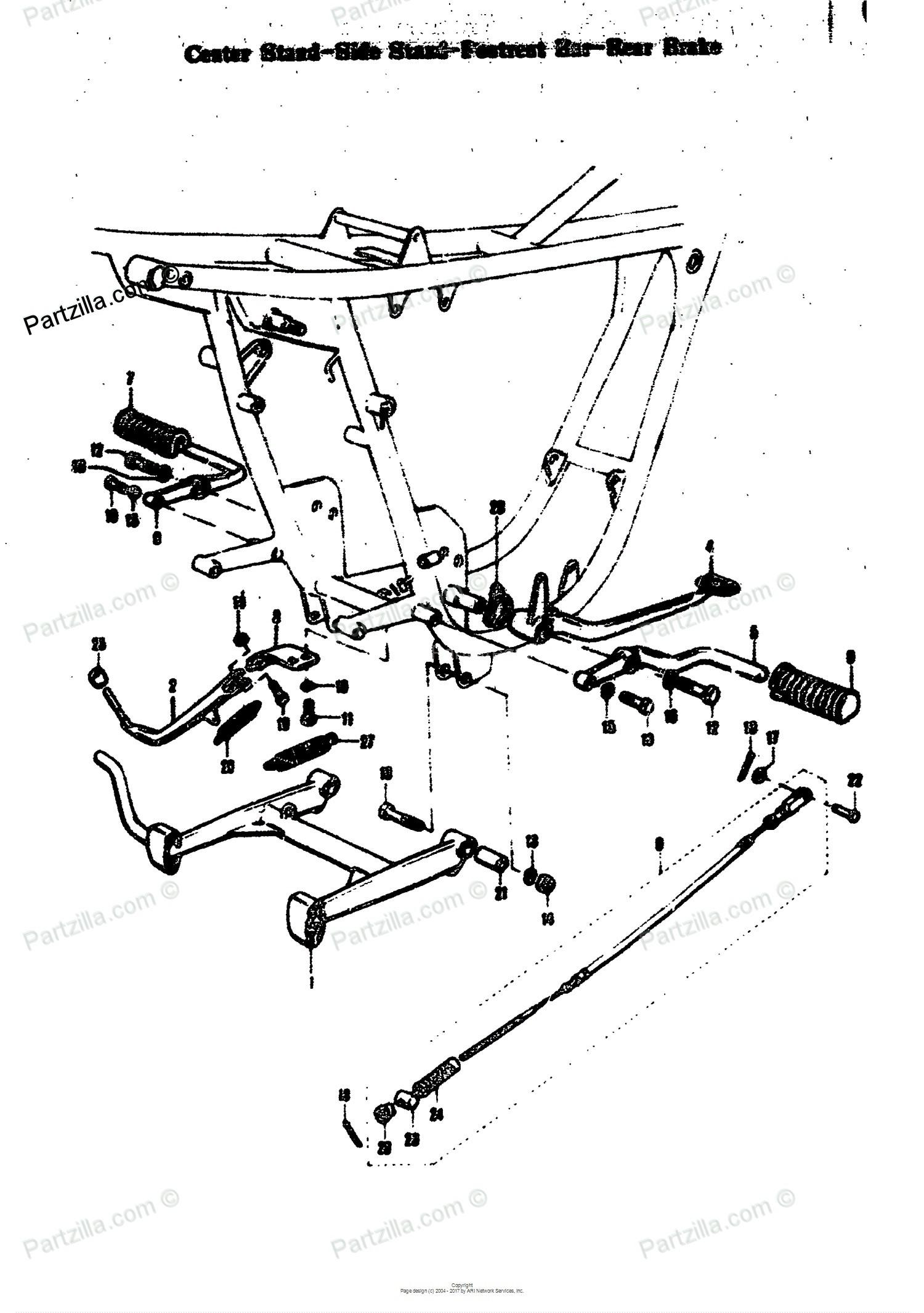 Rear Brake Assembly Diagram