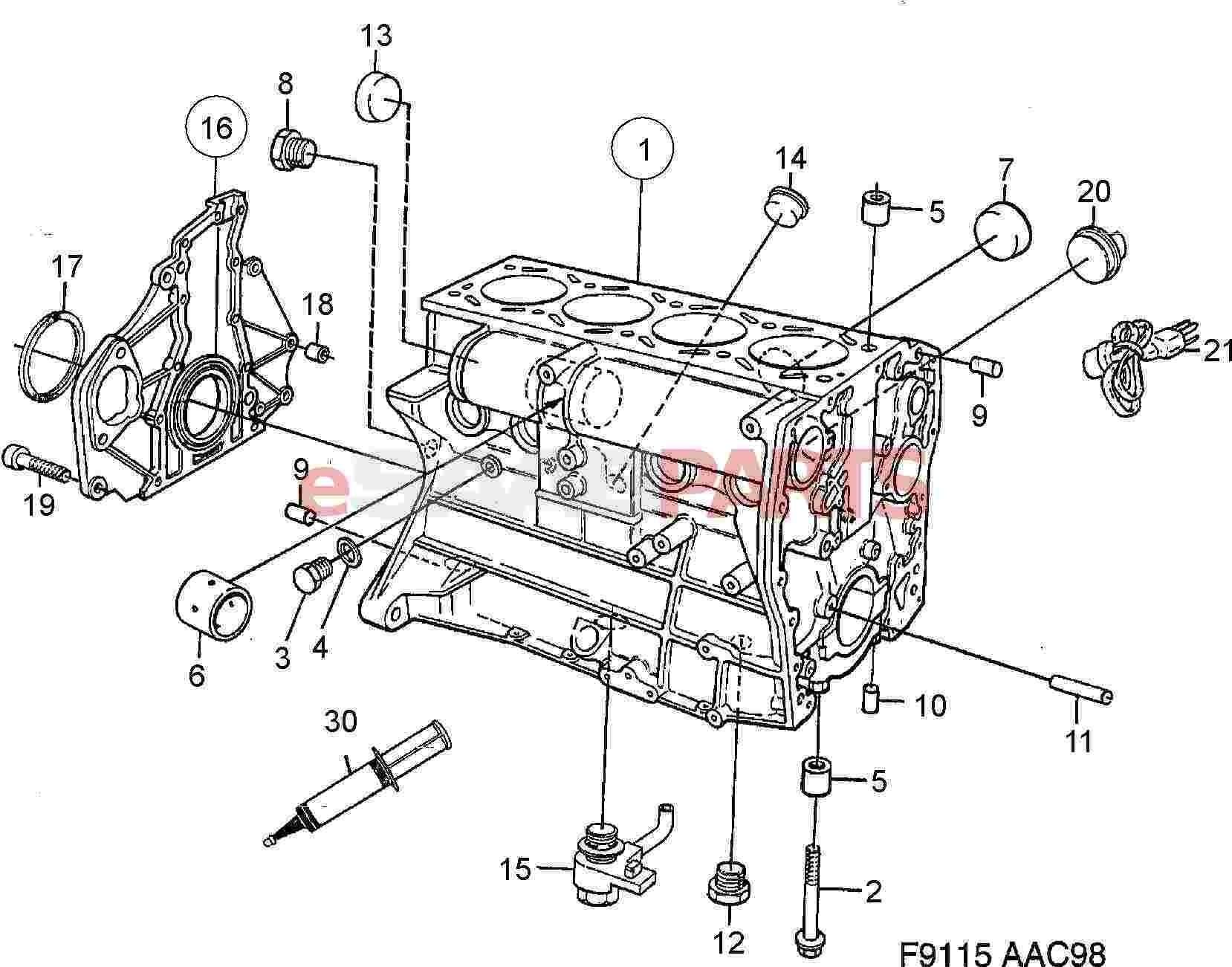 Saab 9 5 2 3t Engine Diagram Saab 9 5 2002 Front Wiring
