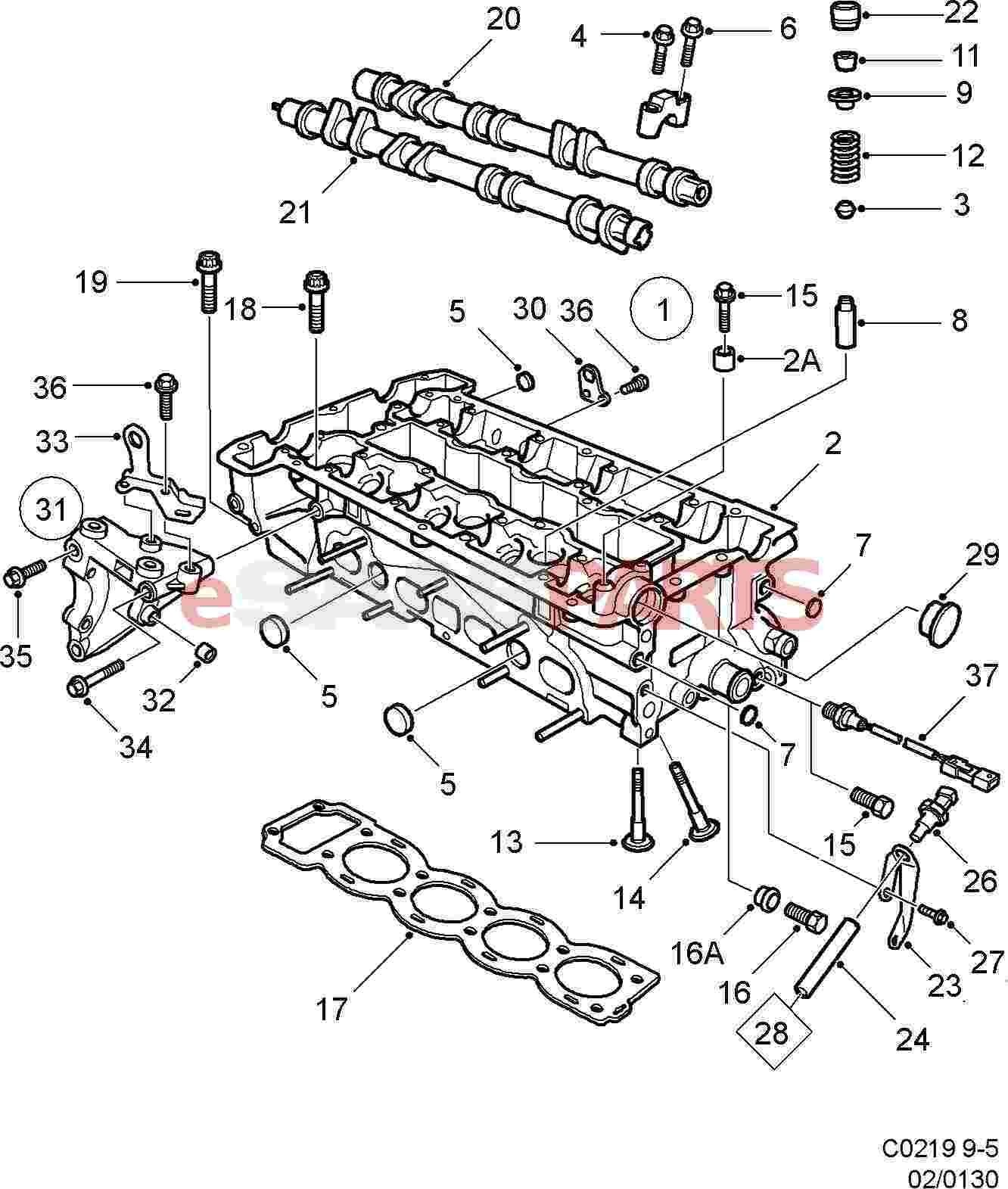 2007 Saab 9 5 Engine Diagram • Wiring Diagram For Free