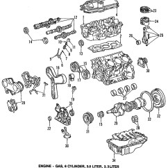 1999 Toyota Camry Exhaust System Diagram Forest Canopy 1997 Parts  Wiring For Free