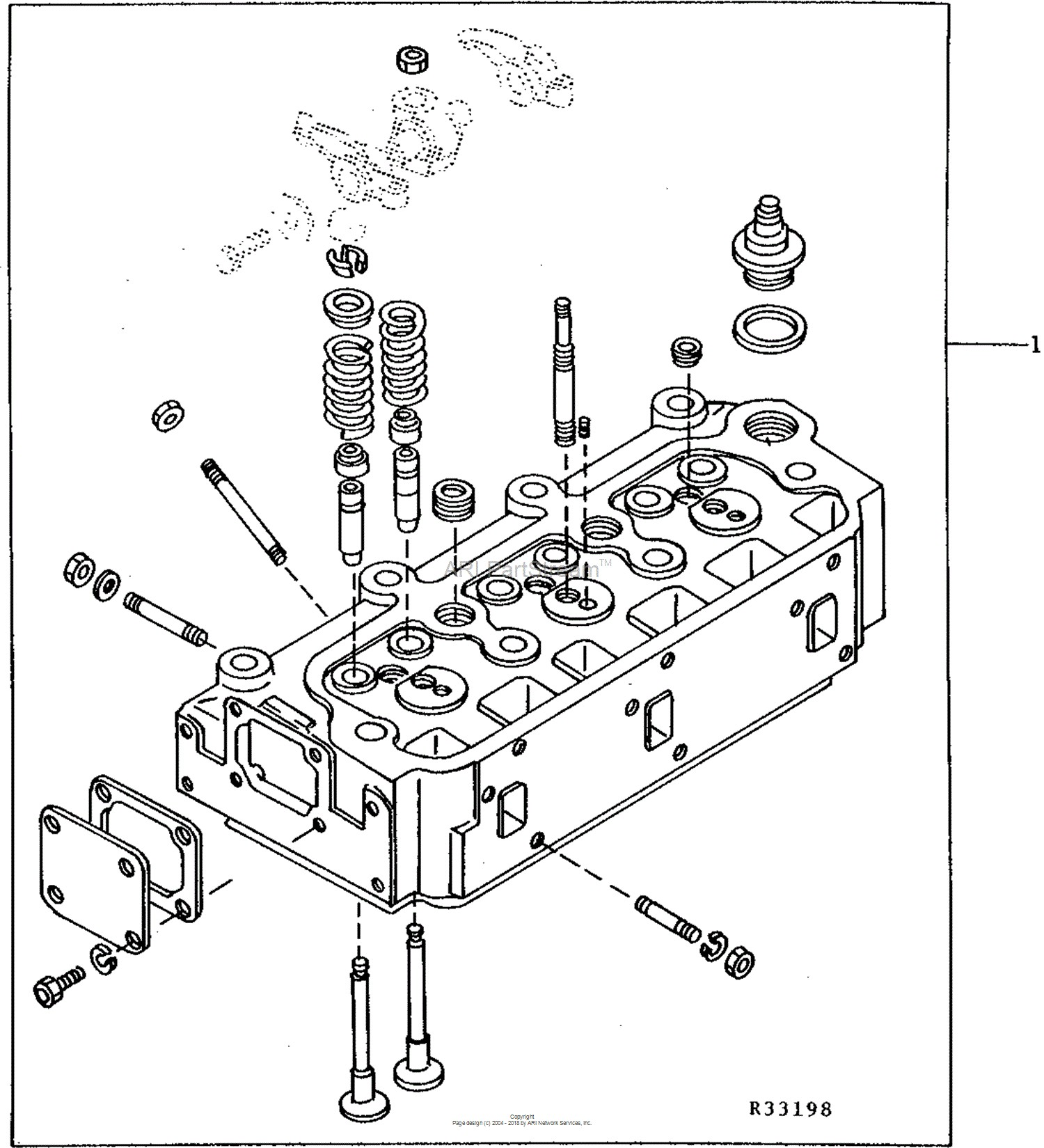 John Deere D105 Engine Diagram