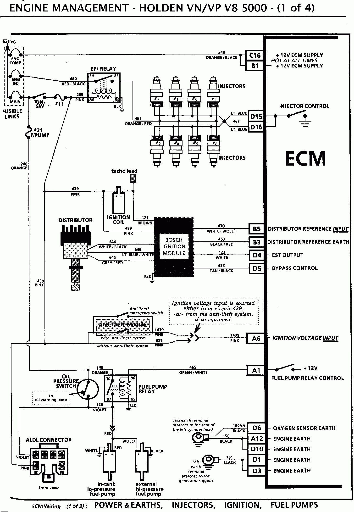 Vz Commodore Ecu Wiring Diagram