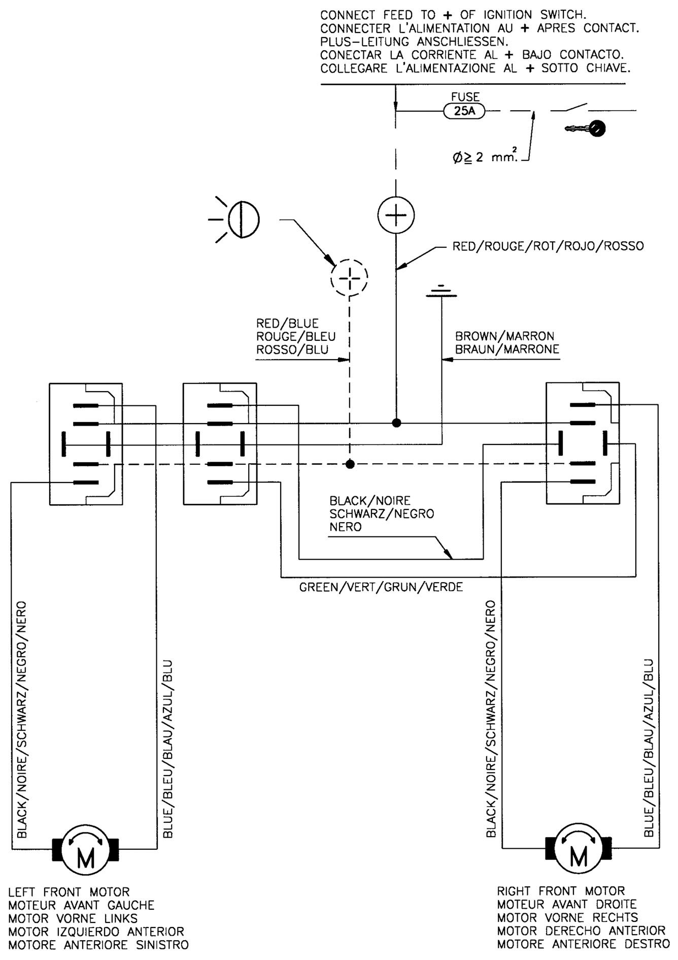 Wiring Diagram for aftermarket Power Windows 2004 Saturn
