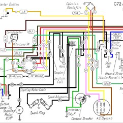 Wiring Diagram For Motorcycle 2003 Grand Caravan Xl125 Honda Cl77