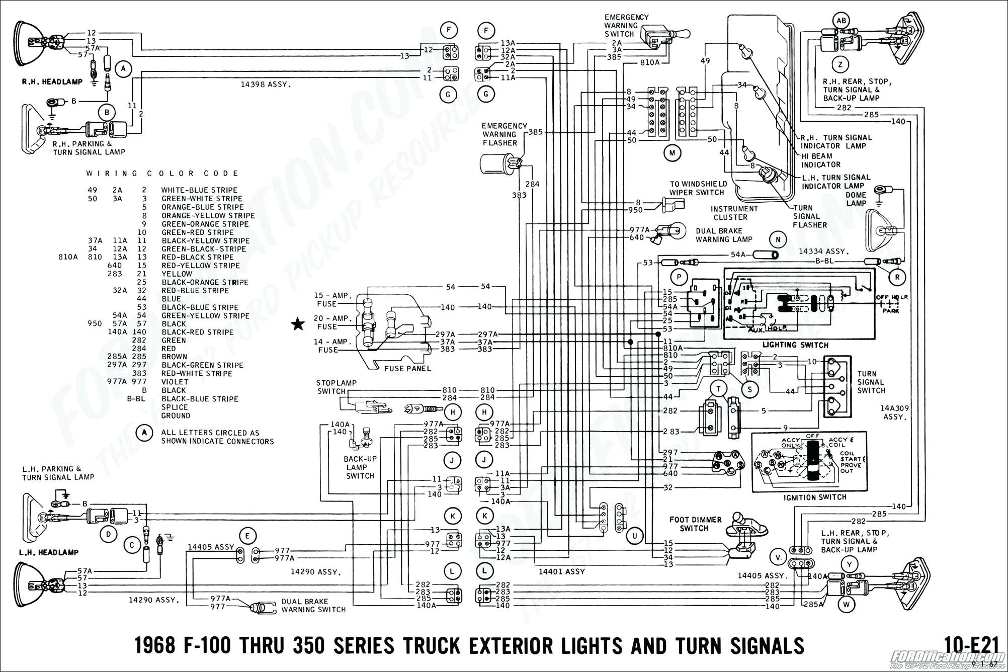 1973 Chevy Truck Wiring Diagram 1973 ford F100 Wiring