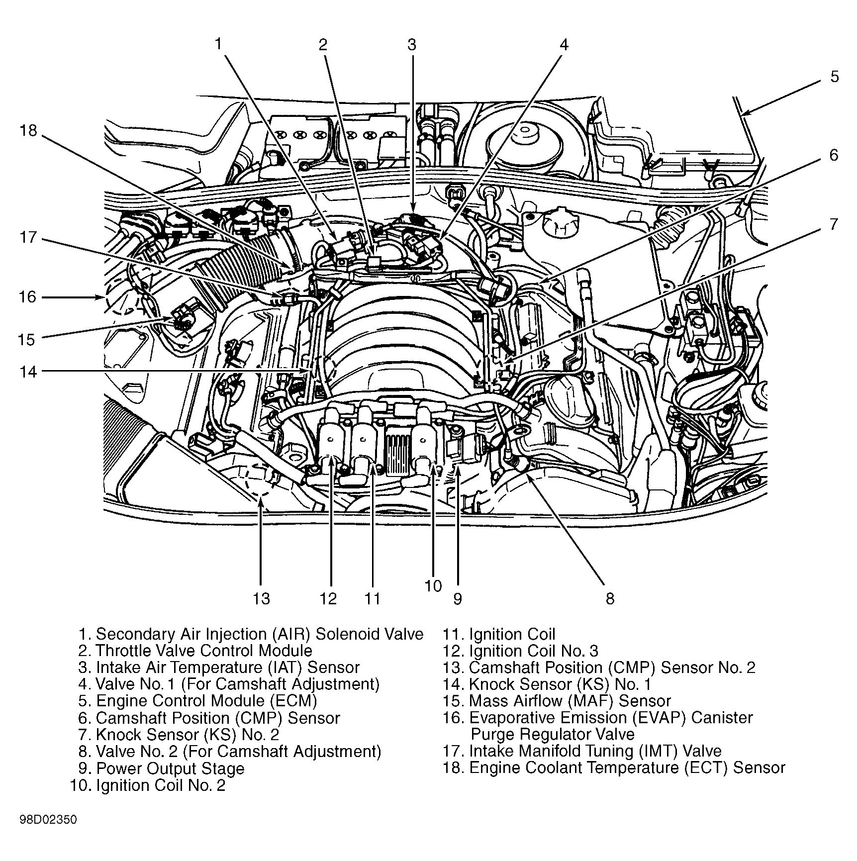 [WRG-1635] 2000 Dodge Intrepid Engine Diagram