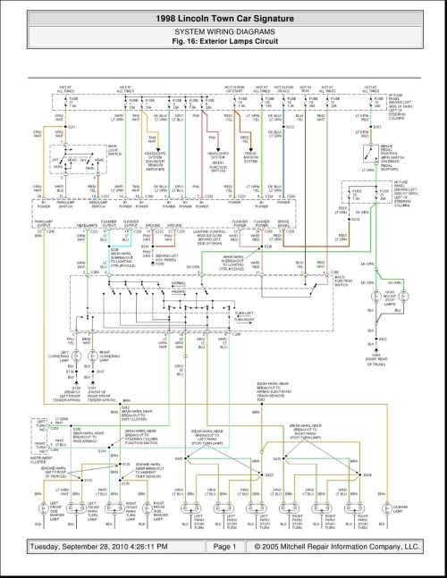 small resolution of 2002 lincoln town car wiring diagram wire center u2022 rh bleongroup co wiring diagram 2009 chevy 2000 mercury grand marquis
