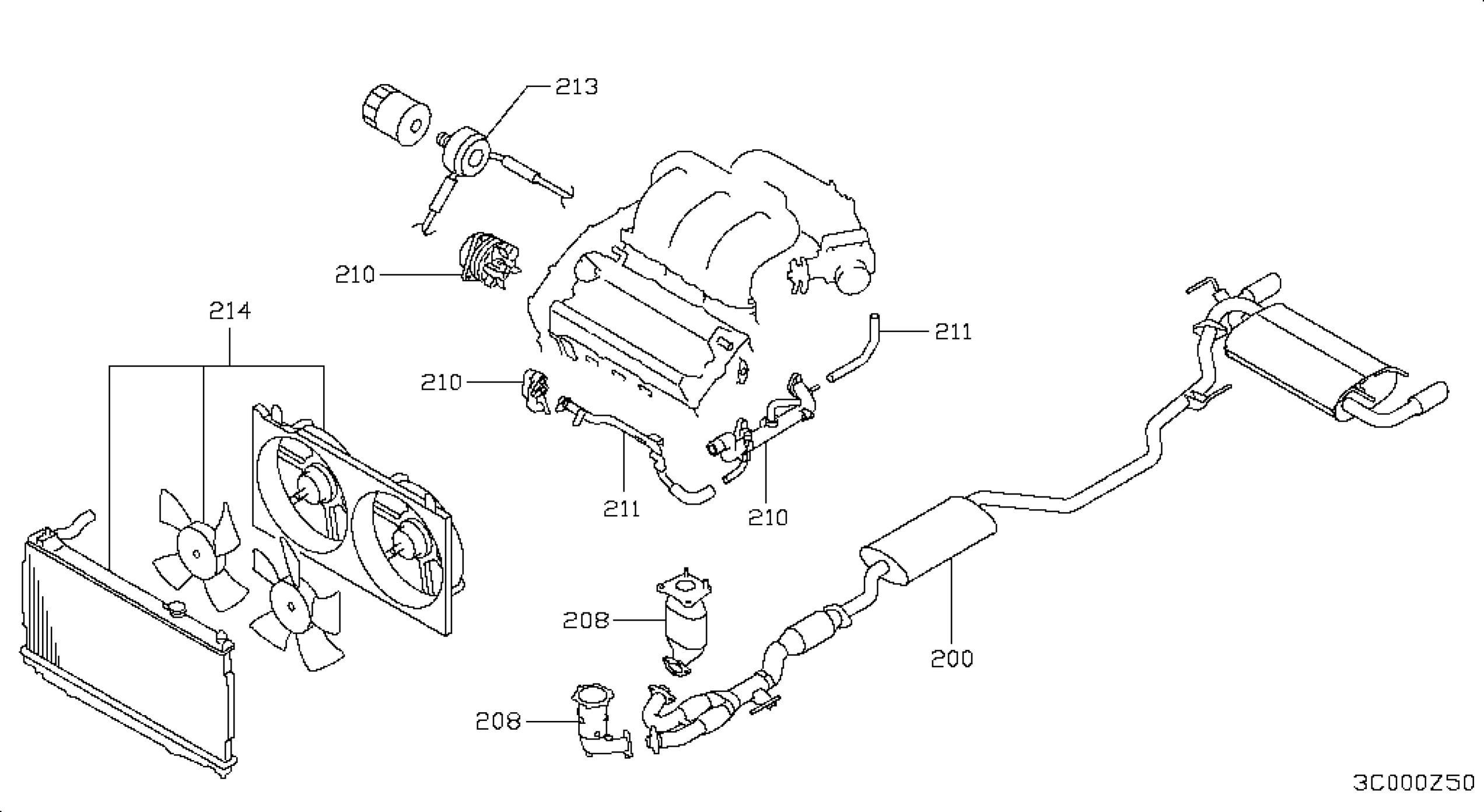 2002 Nissan Altima Engine Diagram Nissan Sentra Engine