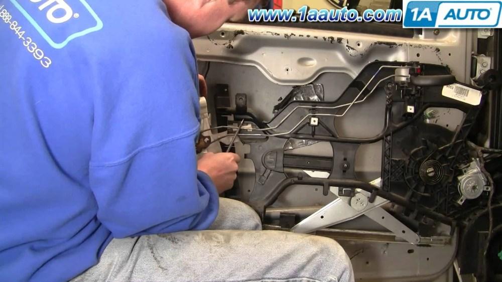 medium resolution of how to install replace power door lock actuator chevy venture pontiac montana 97 05 1aauto