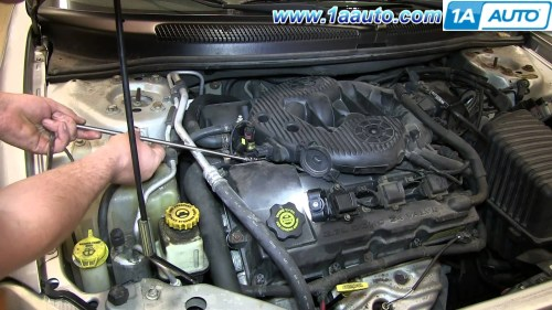 small resolution of 2003 chrysler sebring engine diagram how to install replace manifold pressure map sensor 2001 06 chrysler