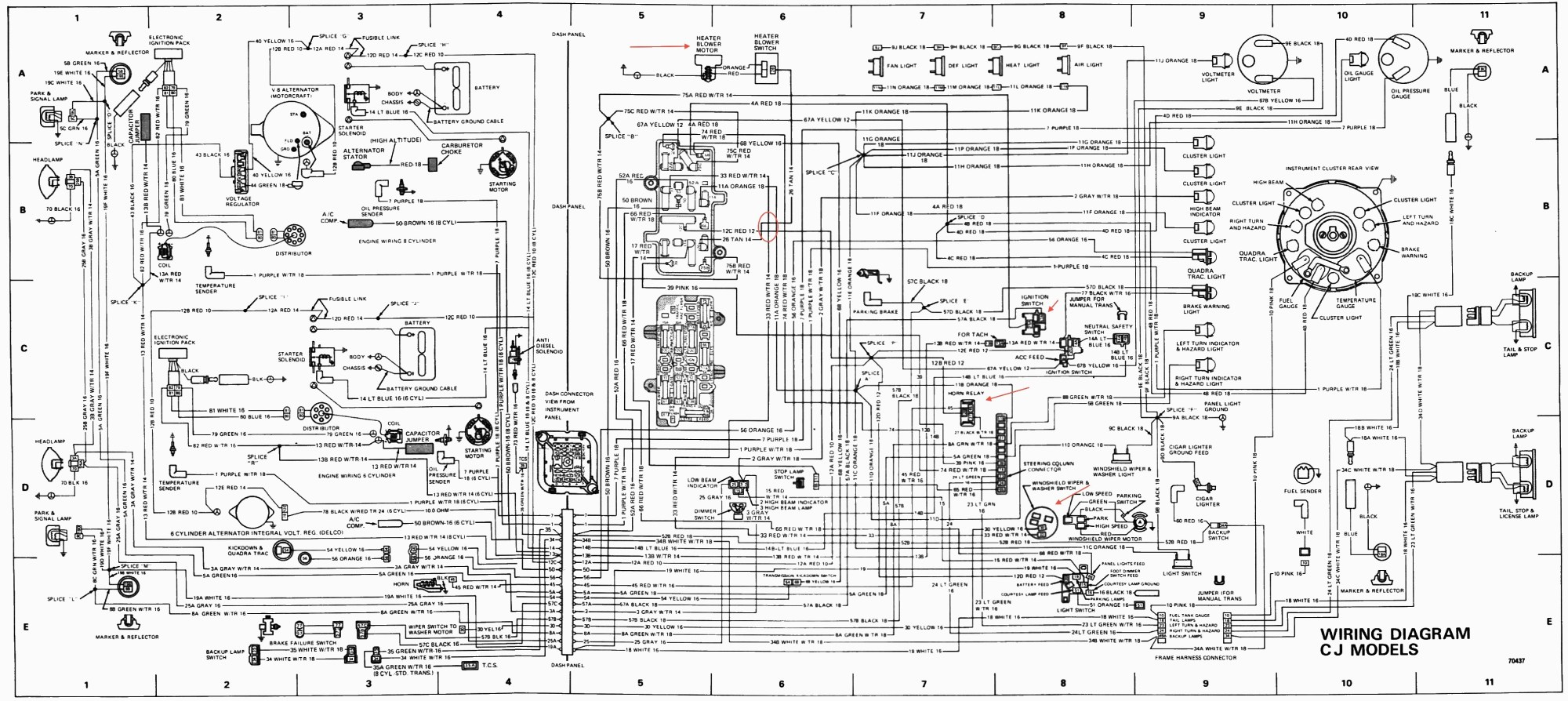 hight resolution of jeep solenoid wiring wiring diagram database 1974 jeep transmission diagram