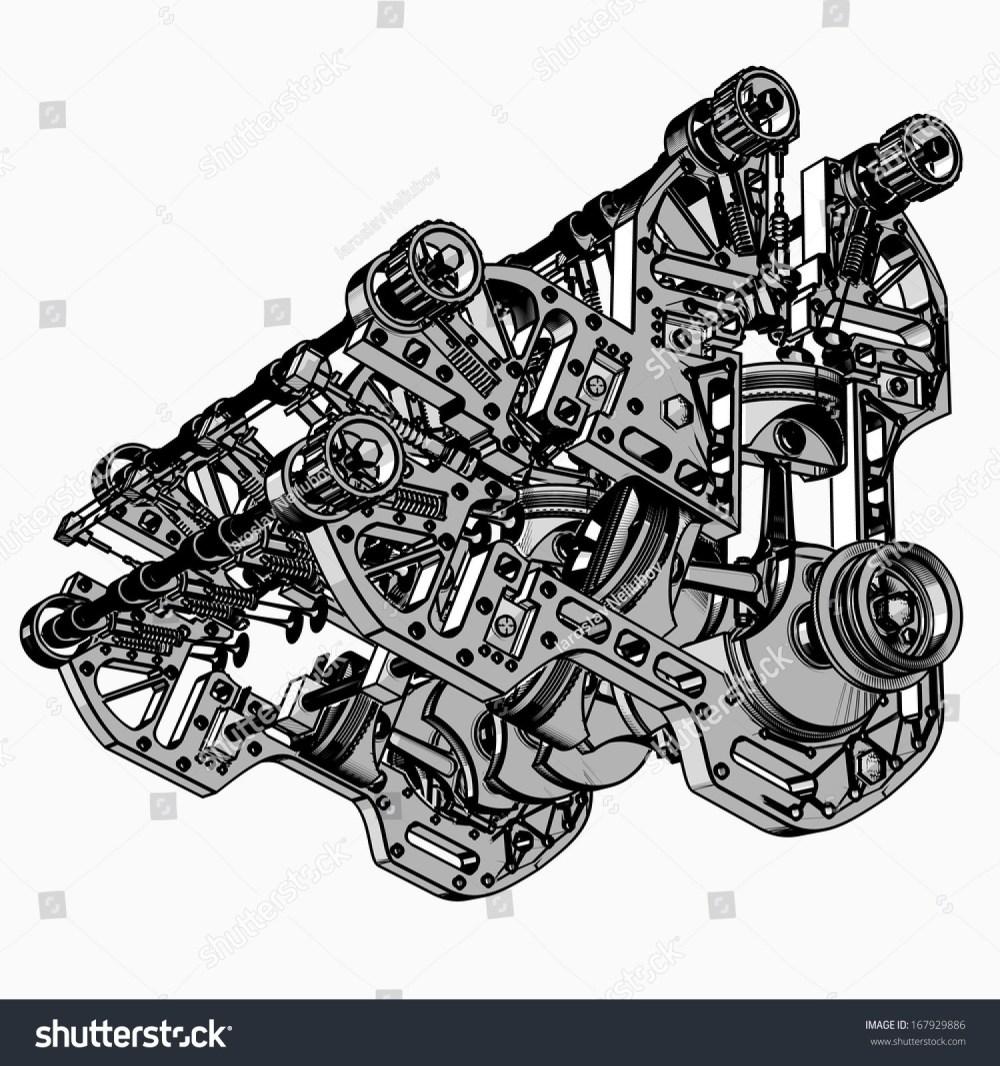 medium resolution of animated v8 engine diagram v 8 car engine black white drawing stock boxer engine animation v8