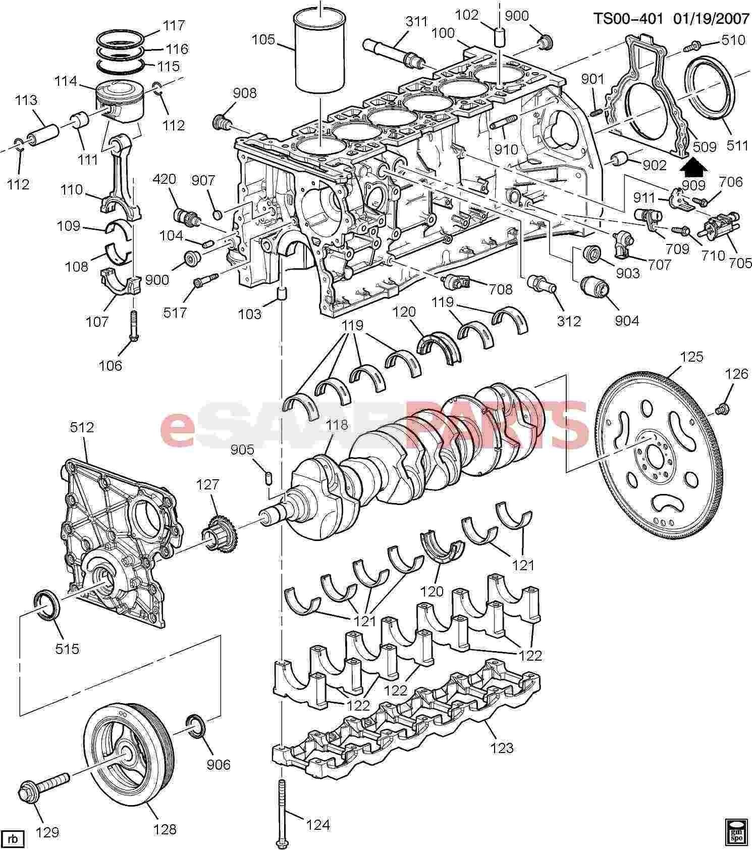 Engine Block Parts Diagram Auto Engine Parts Diagram Gas