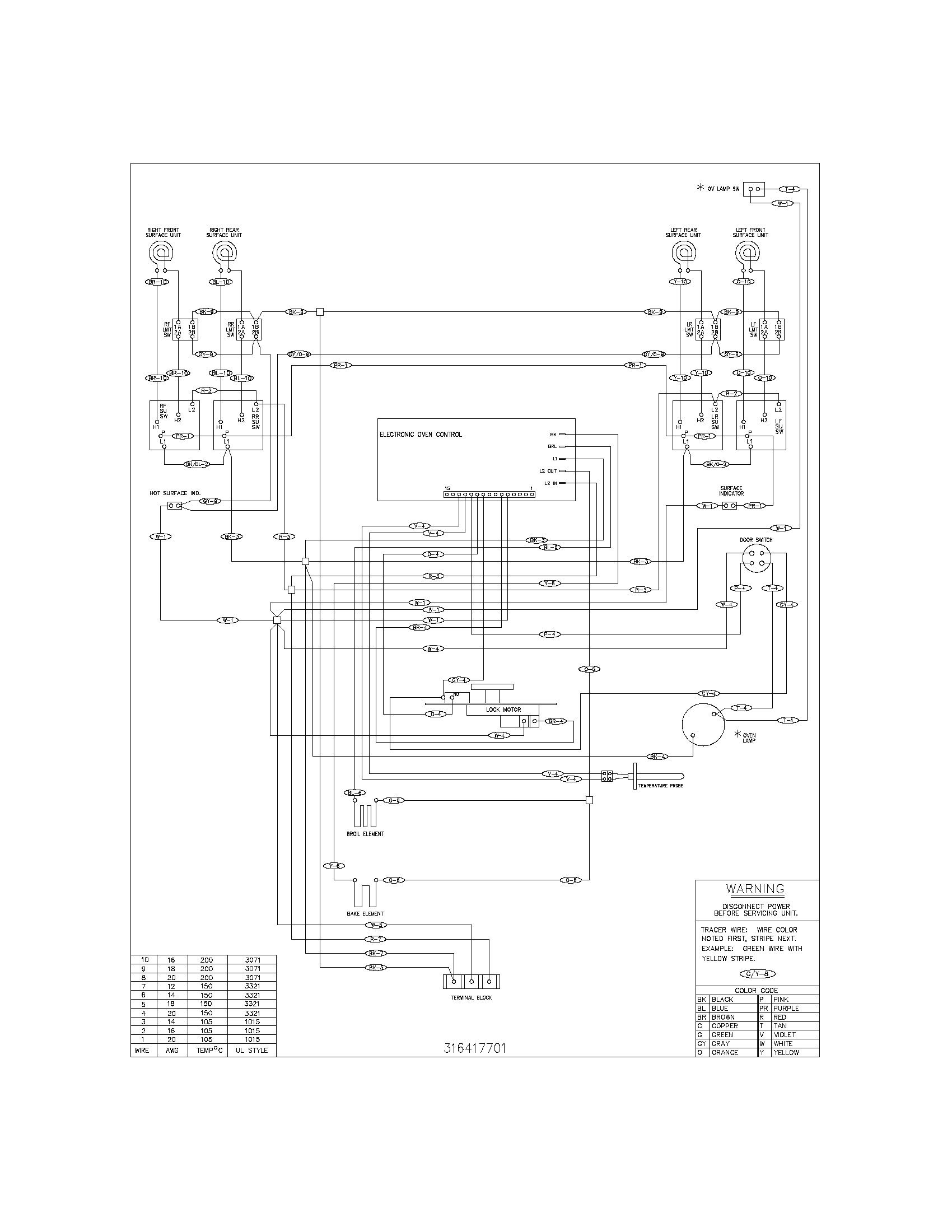 Frigidaire Electric Range Parts Diagram Kenmore Gas Stove