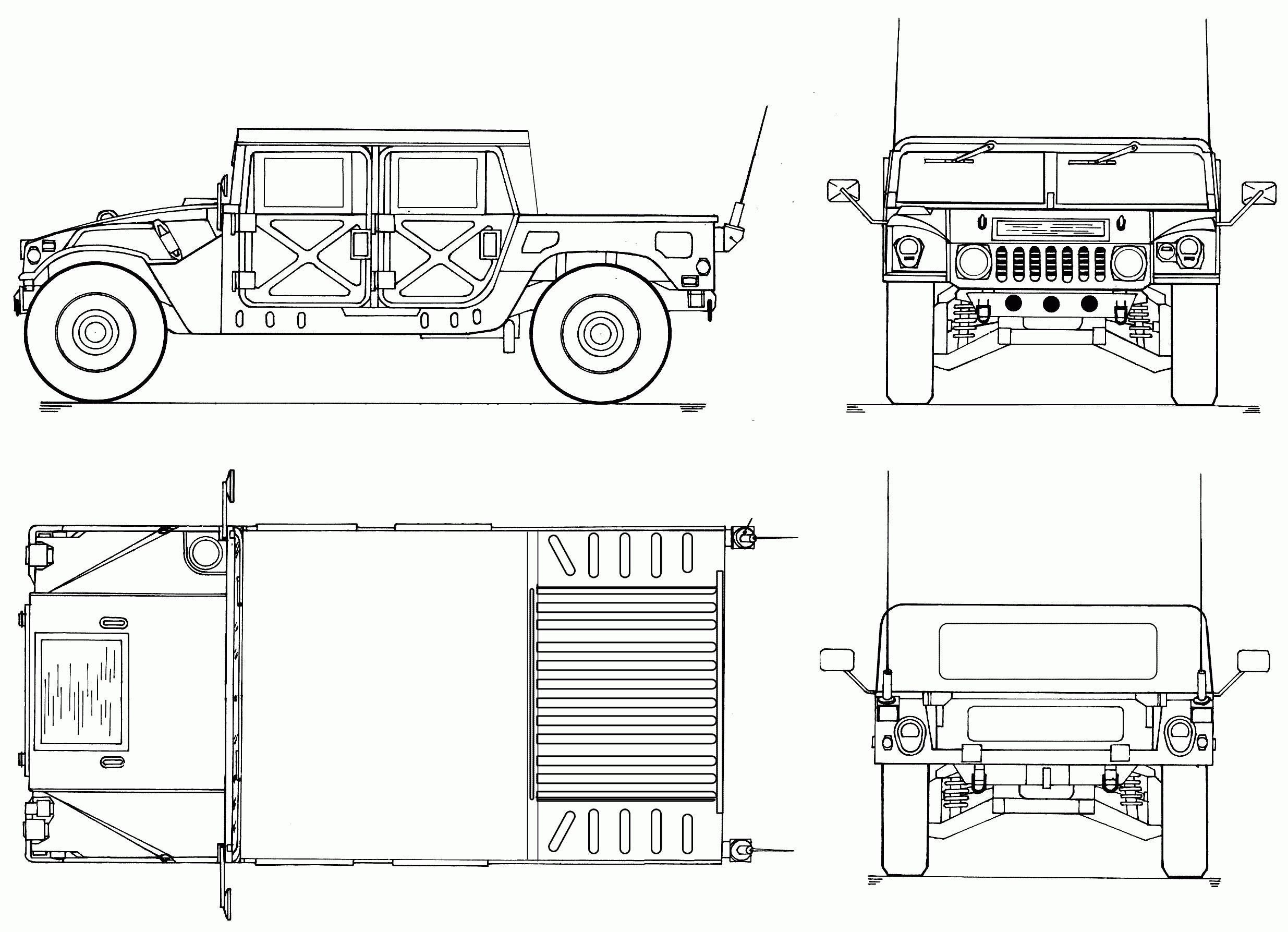 Hummer H2 Engine Diagram Electric Cooling Fan Conversion