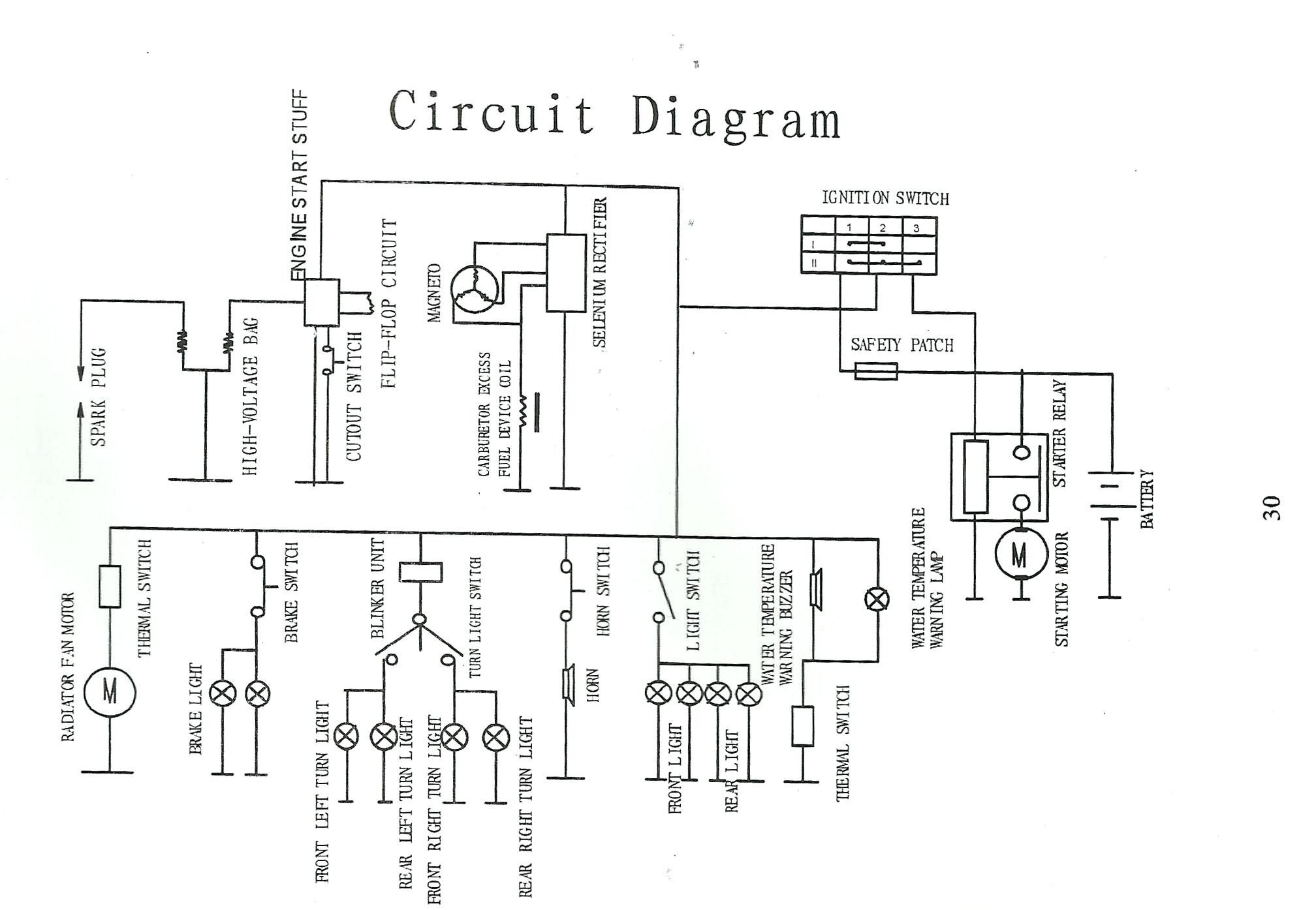 X18 Pocket Bike Wiring Diagram Seven-pin Rv Plug Wiring