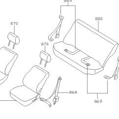 2001 Saturn Sl2 Radio Wiring Diagram 1991 Club Car Electrical Seat Belt 3 Point Retractable Lap & Shoulder Seatbelts – My
