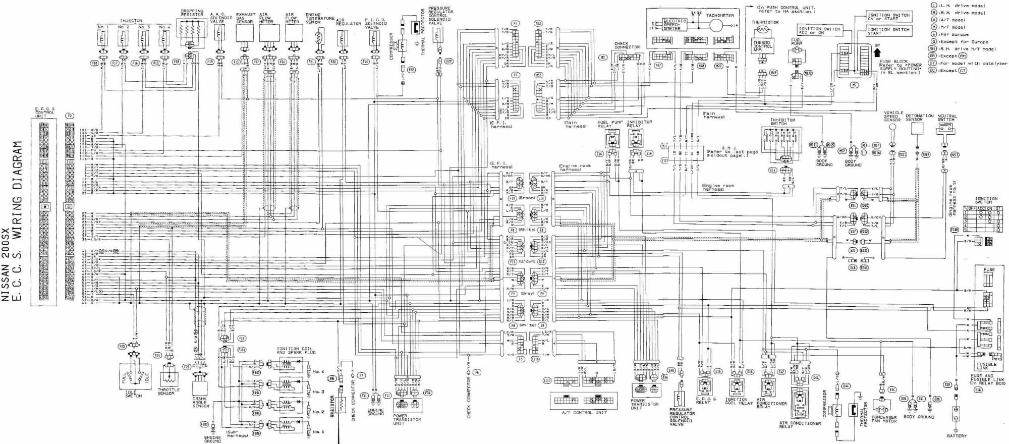 hight resolution of engine wiring harness 1990 300zx interior