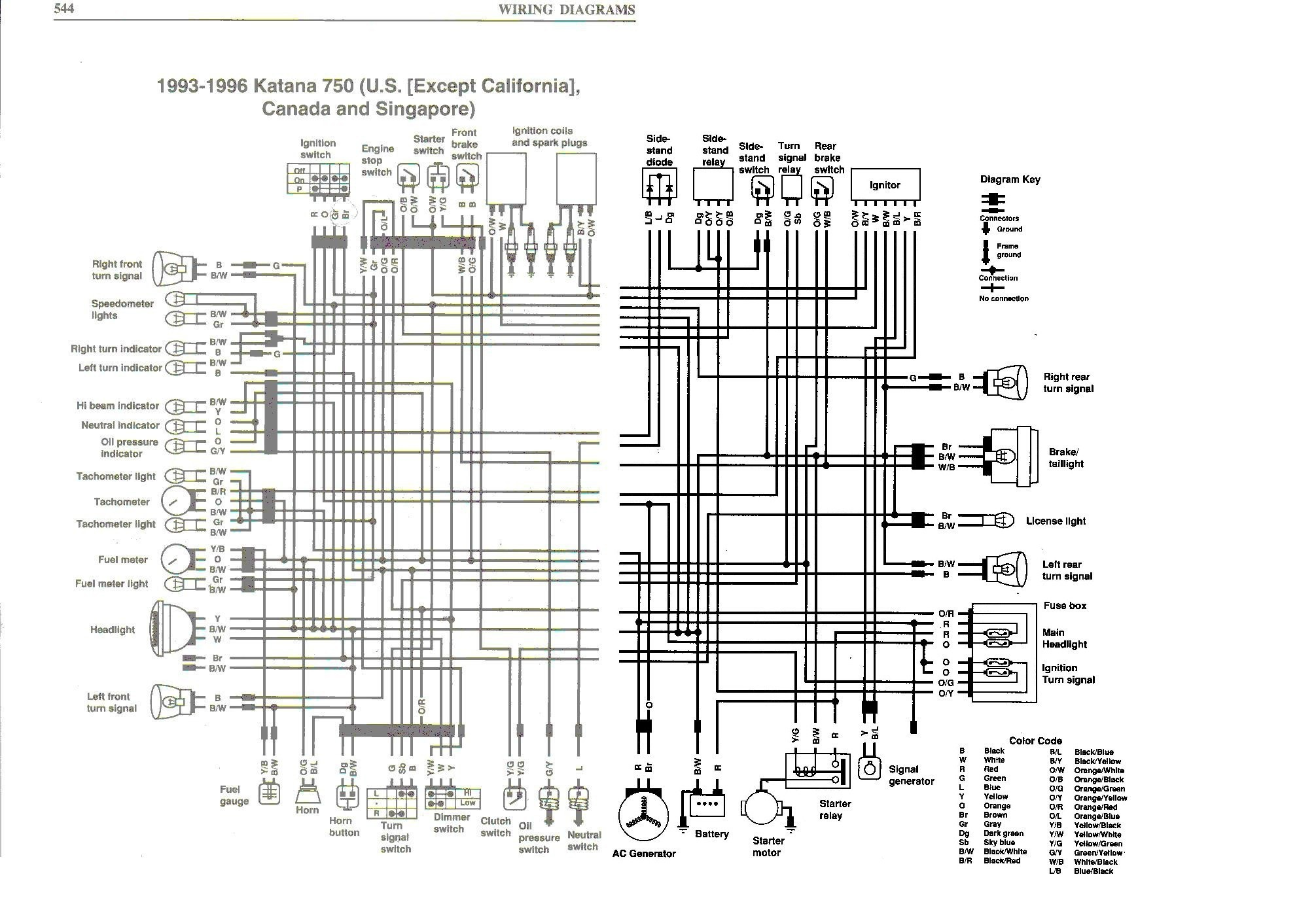 Wiring Diagram Suzuki Bandit 600 Data Wiring Diagrams