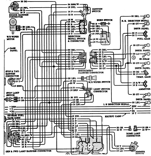 small resolution of 1974 chevy truck wiring diagram 1970 chevrolet c10 wiring diagram download wiring diagram collection of