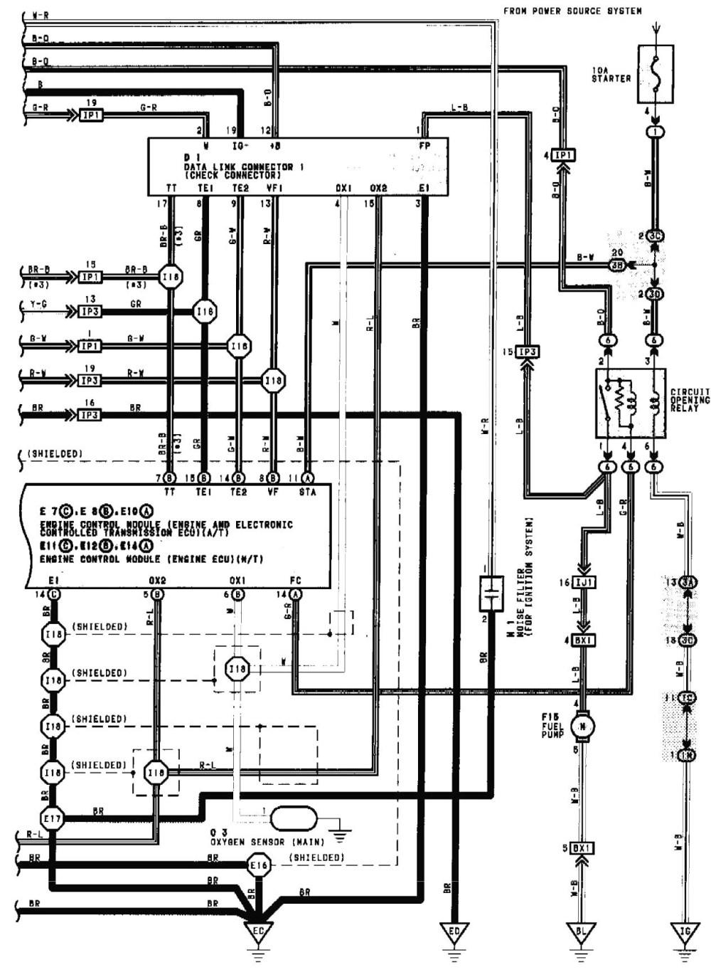 medium resolution of toyota 2 4l engine diagram toyota auto wiring diagram 2002 toyota camry sensor wiring diagram 2003