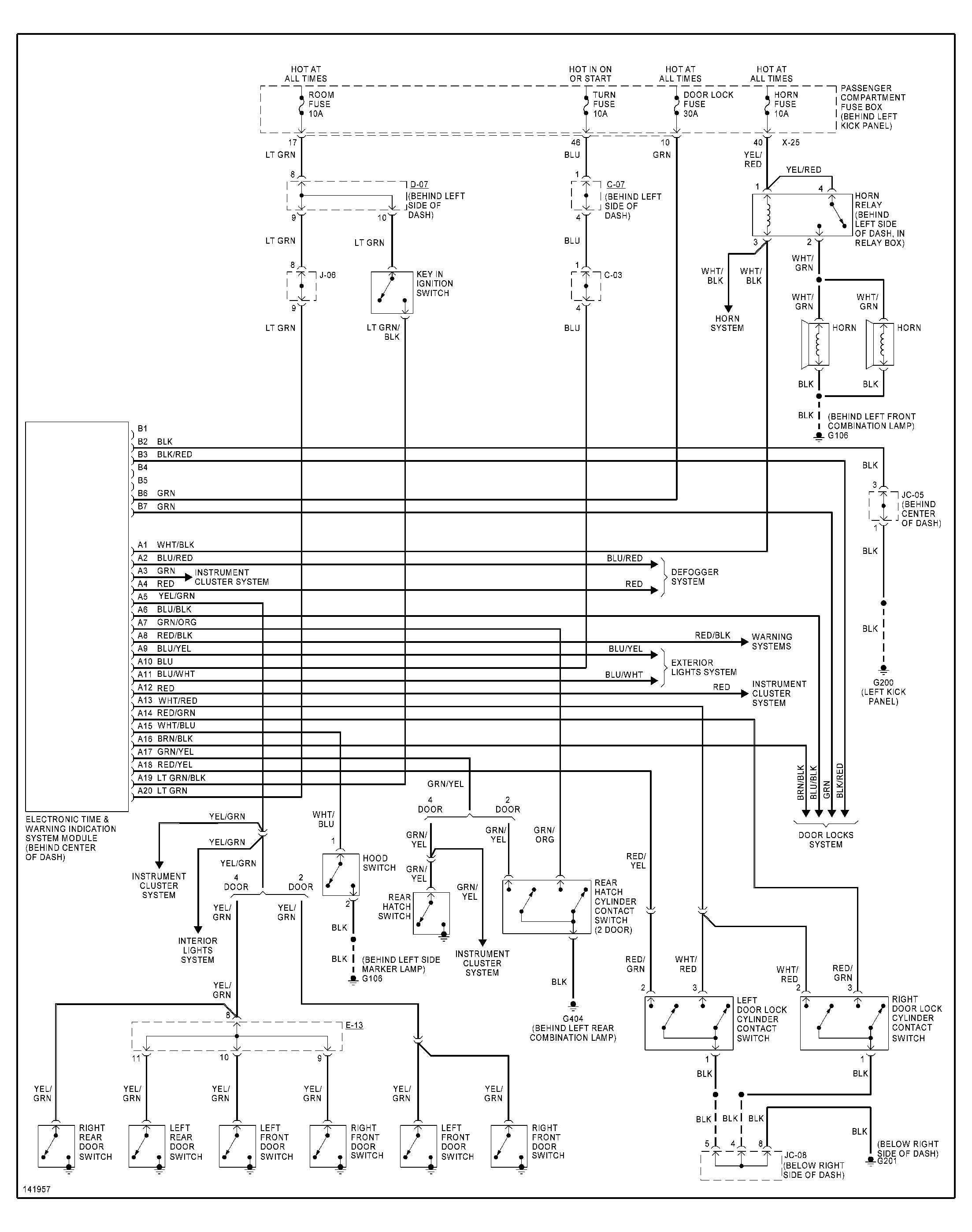 2001 Kium Sportage Engine Diagram