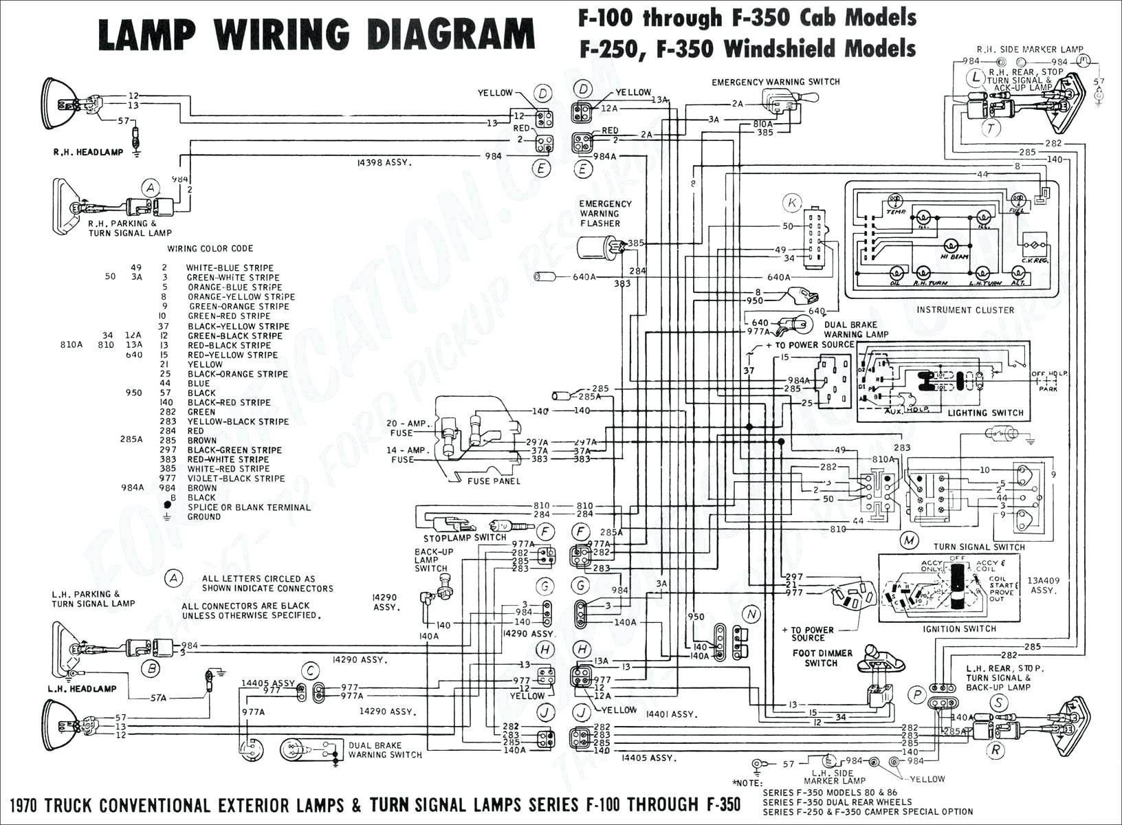 1952 International Truck Wiring Diagram Schematic